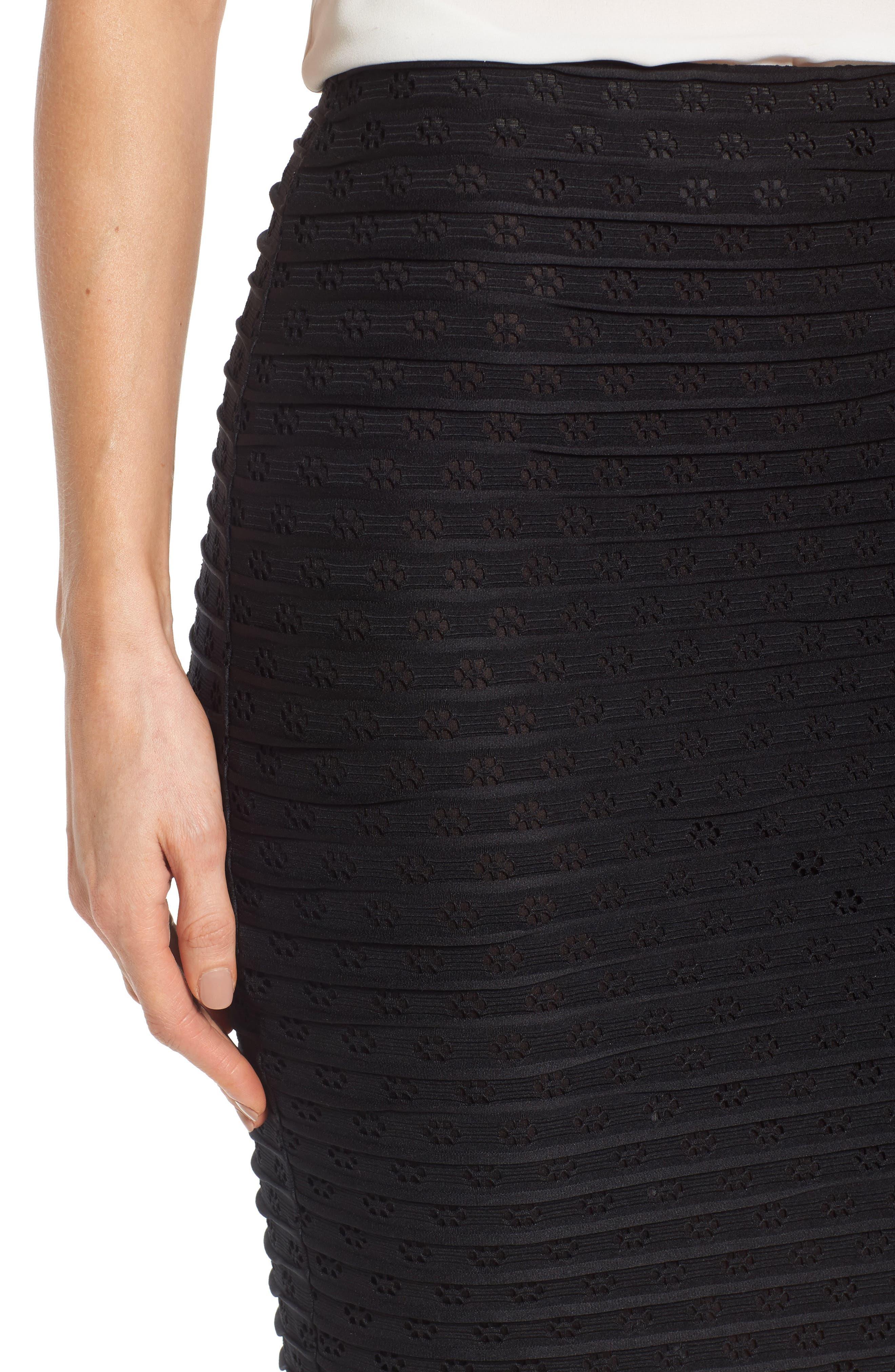 Alternate Image 4  - CeCe Jacquard Knit Pencil Skirt