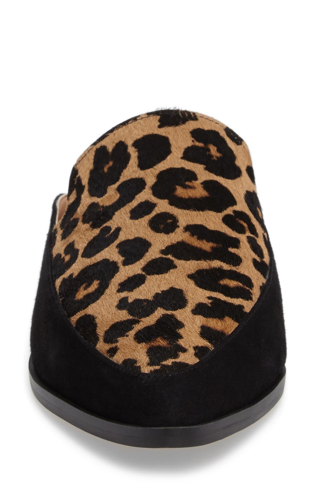 Alternate Image 5  - Halogen® Corbin Genuine Calf Hair Slide Loafer (Women)