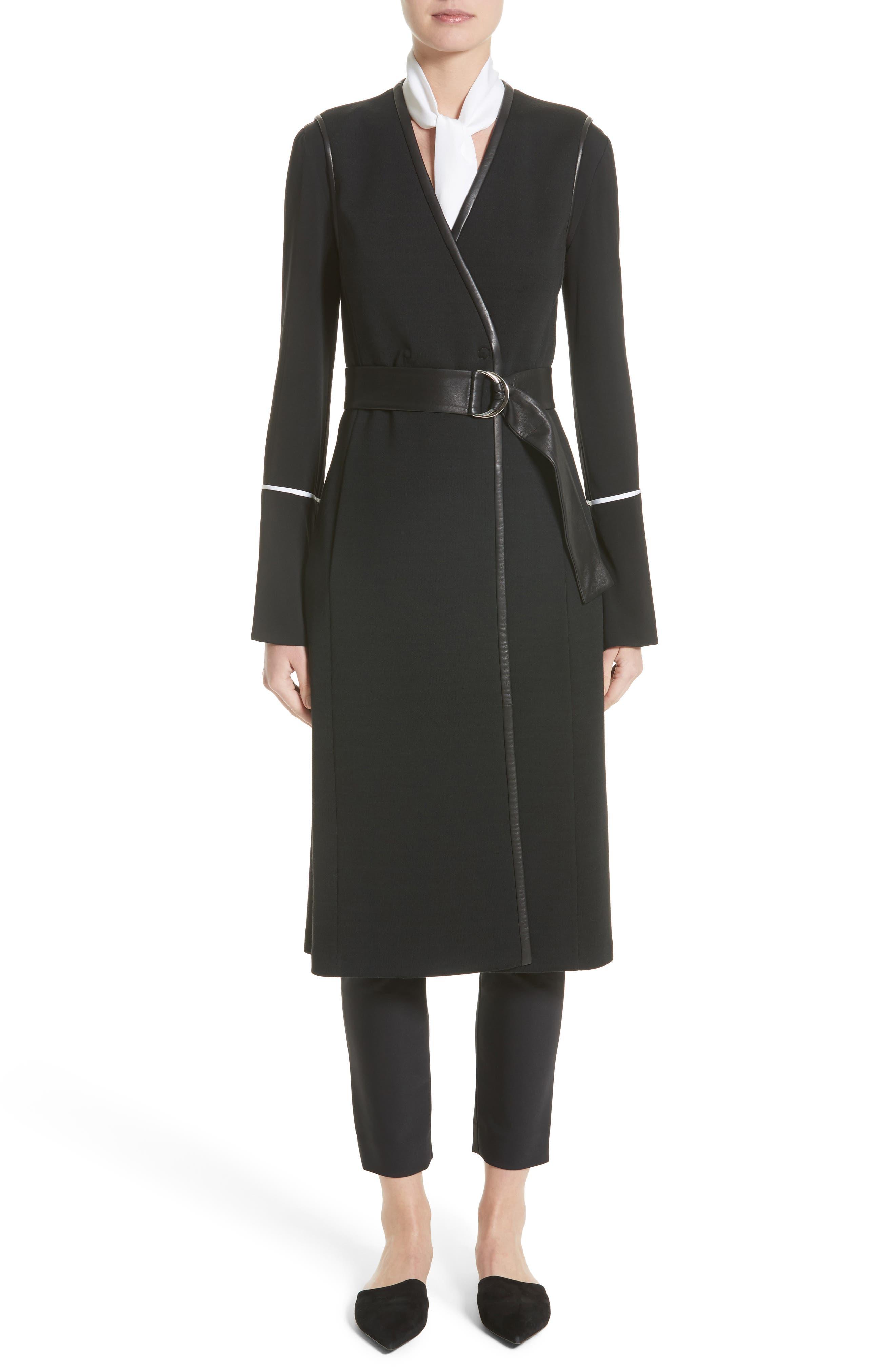 St. John Collection Milano Knit A-Line Vest