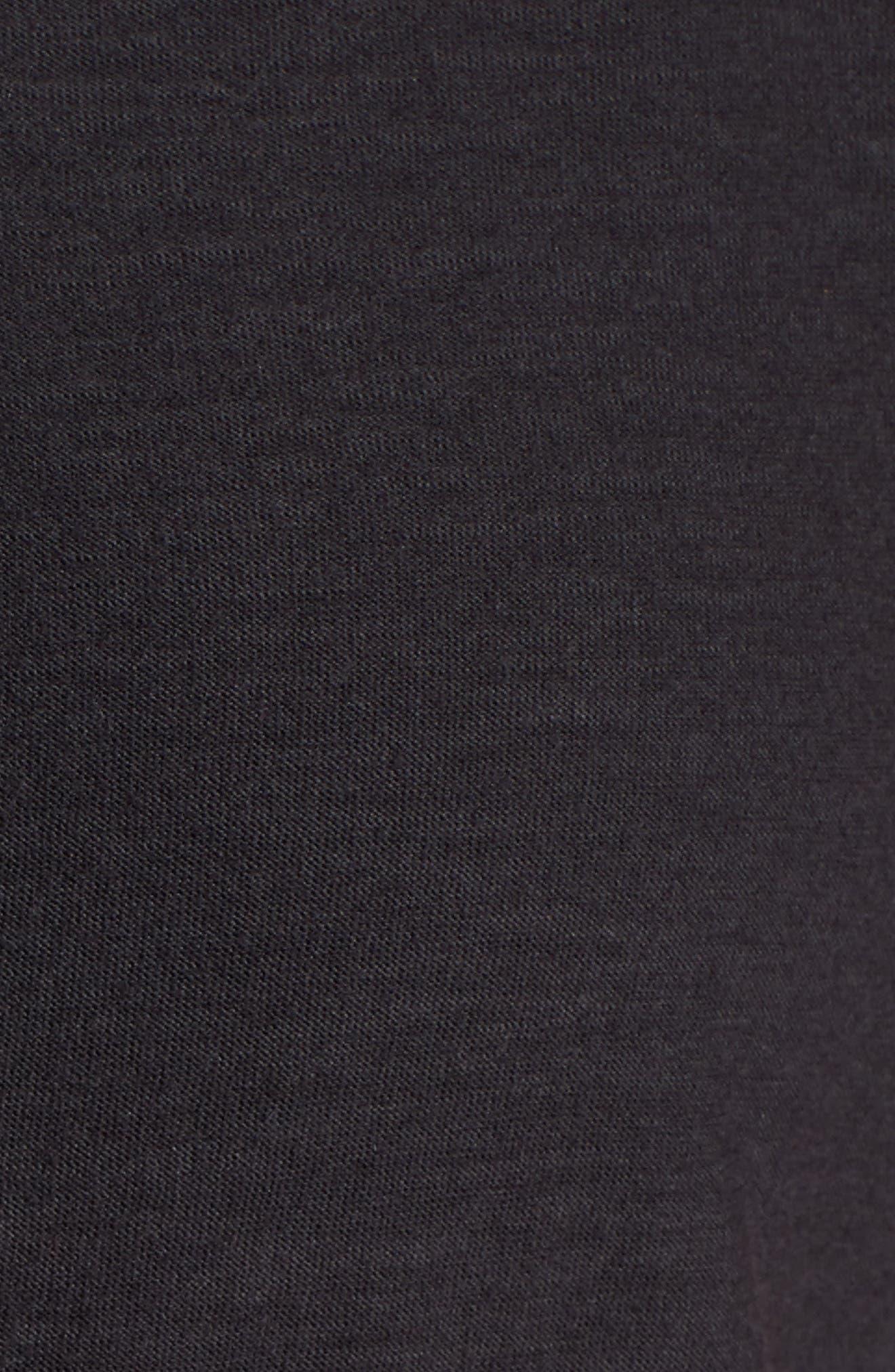 Arden Shift Dress,                             Alternate thumbnail 5, color,                             Black