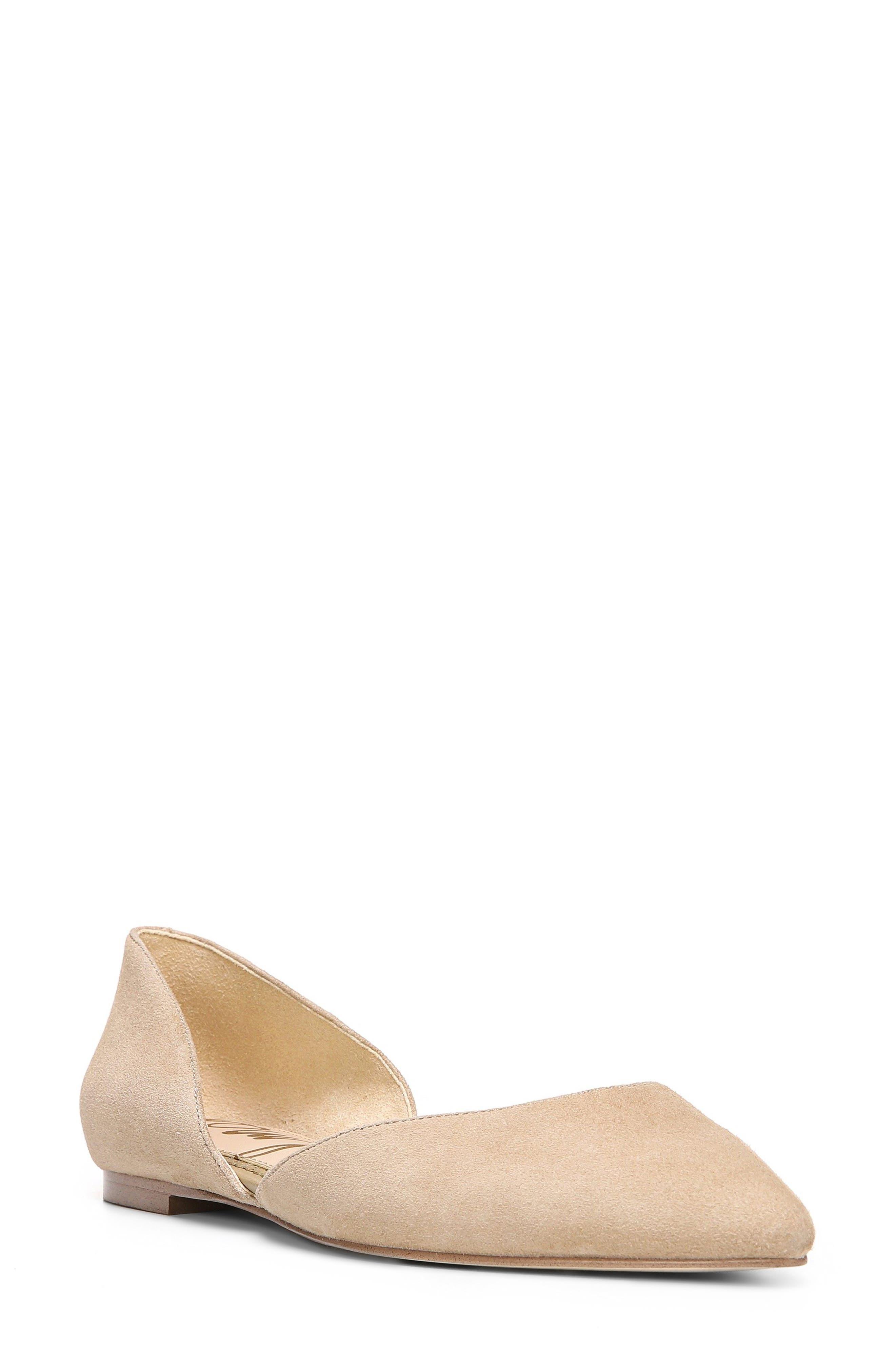 Alternate Image 1 Selected - Sam Edelman Rodney Pointy Toe d'Orsay Flat (Women)