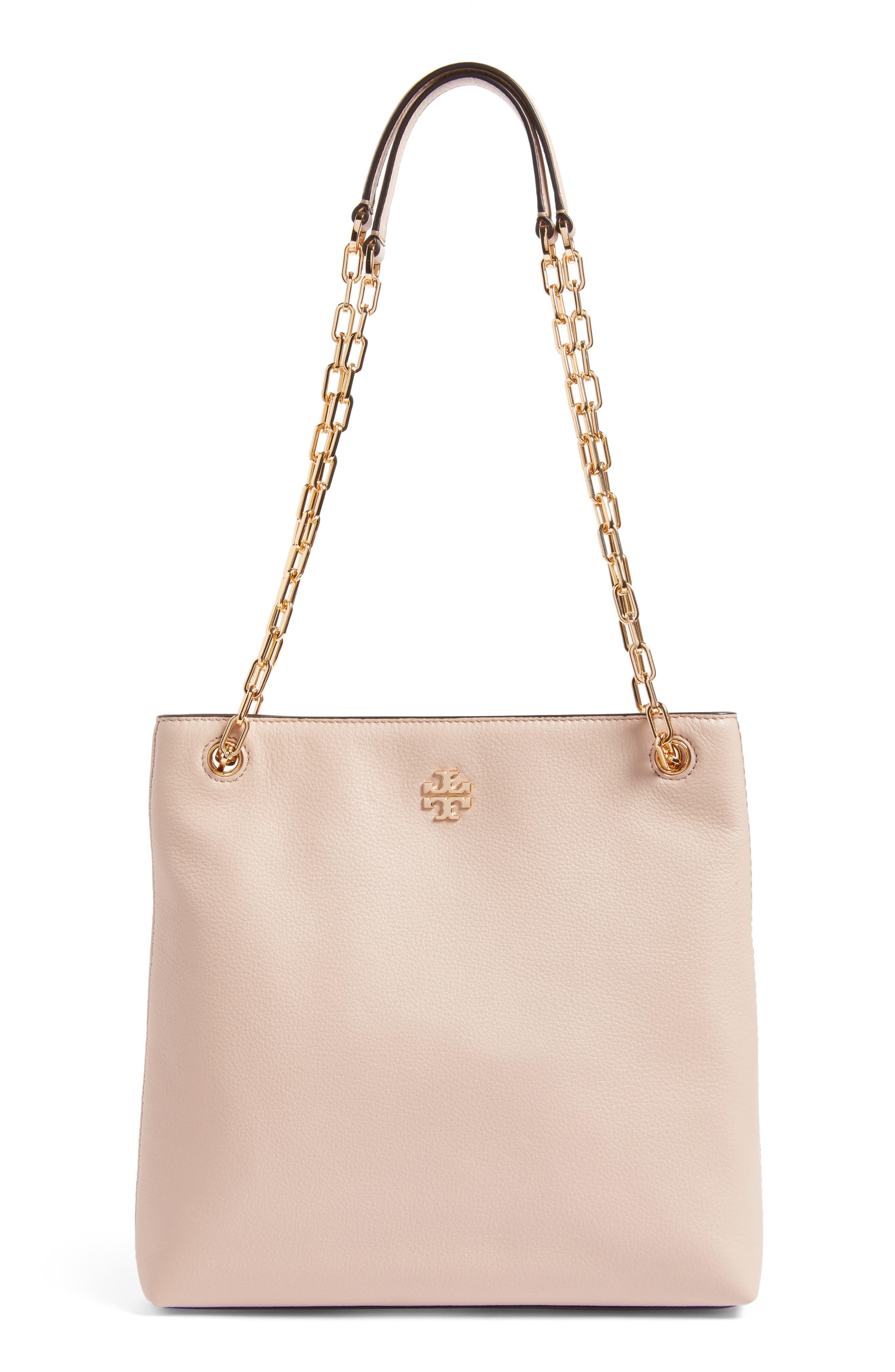 Frida Swingpack Leather Crossbody Bag,                         Main,                         color, Light Oak