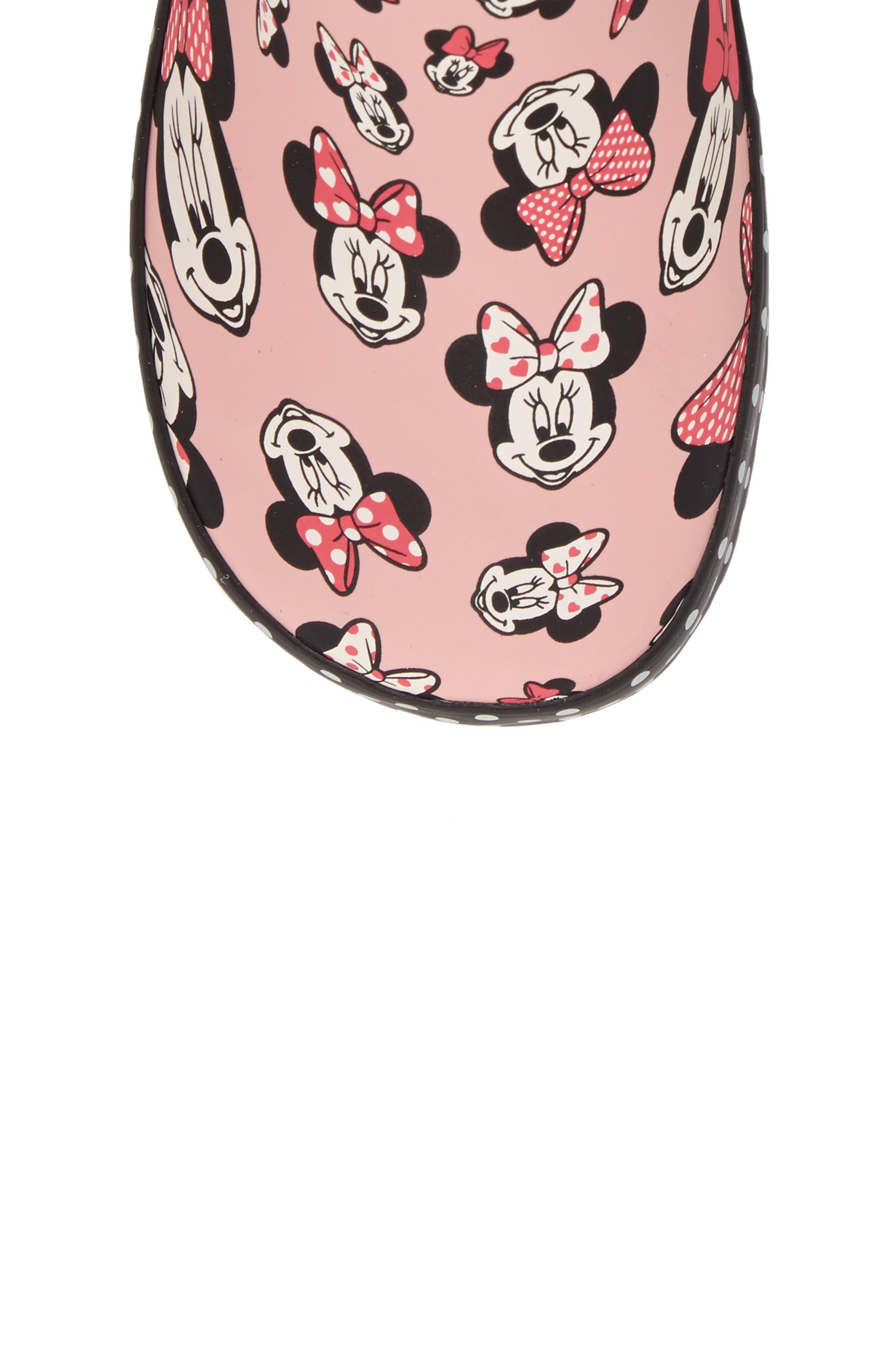 Alternate Image 5  - Western Chief Disney® Minnie Mouse Waterproof Rain Boot (Walker, Toddler, Little Kid & Big Kid)
