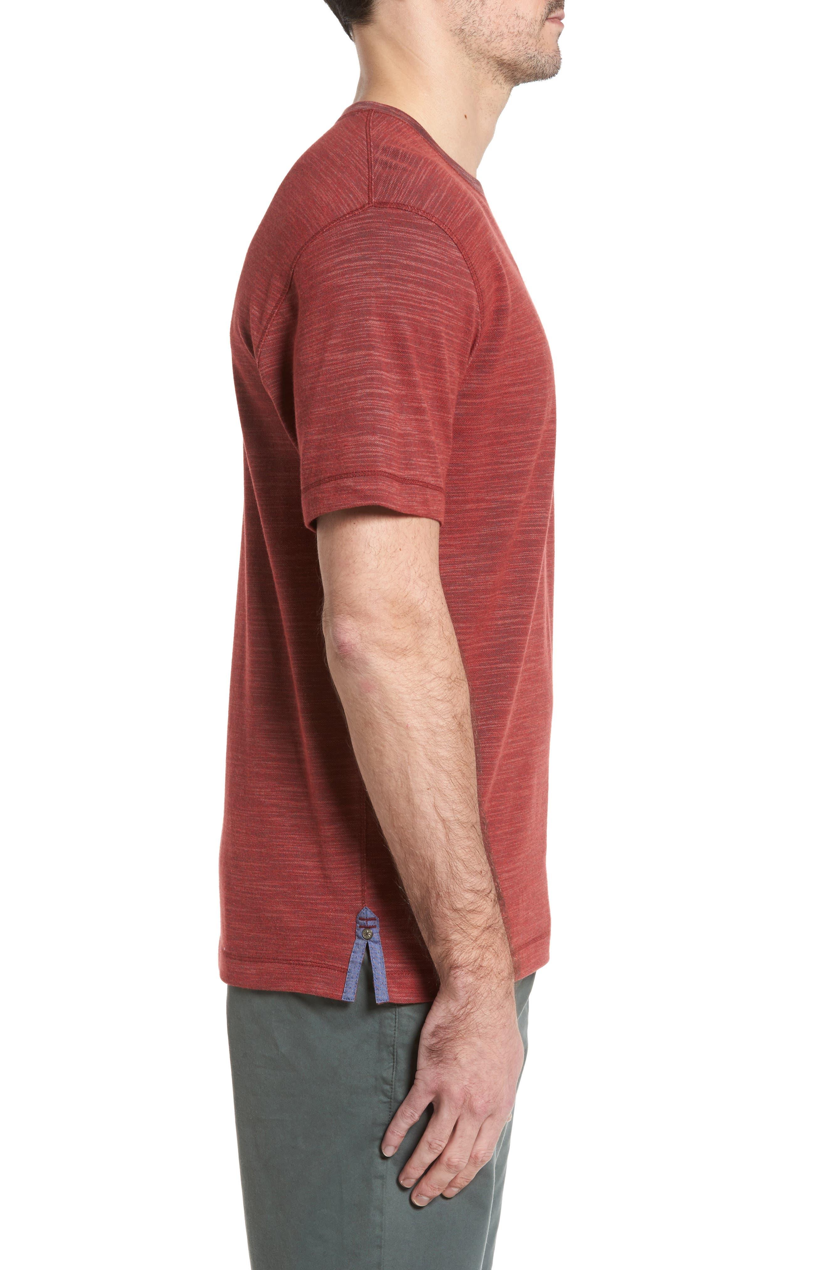 Alternate Image 3  - Thaddeus Paxton Space Dye Piqué T-Shirt