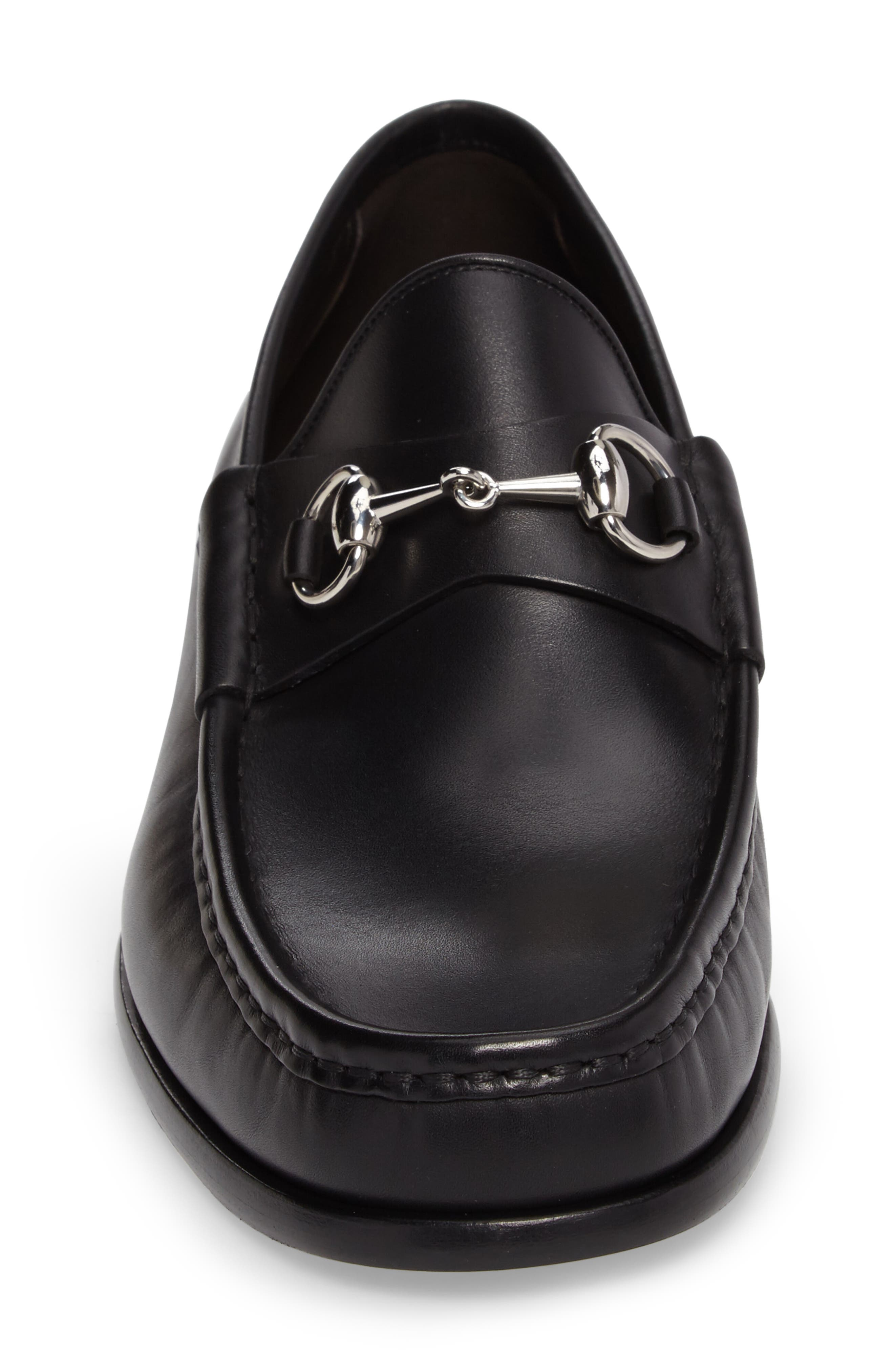 Alternate Image 4  - Gucci Classic Leather Moccasin