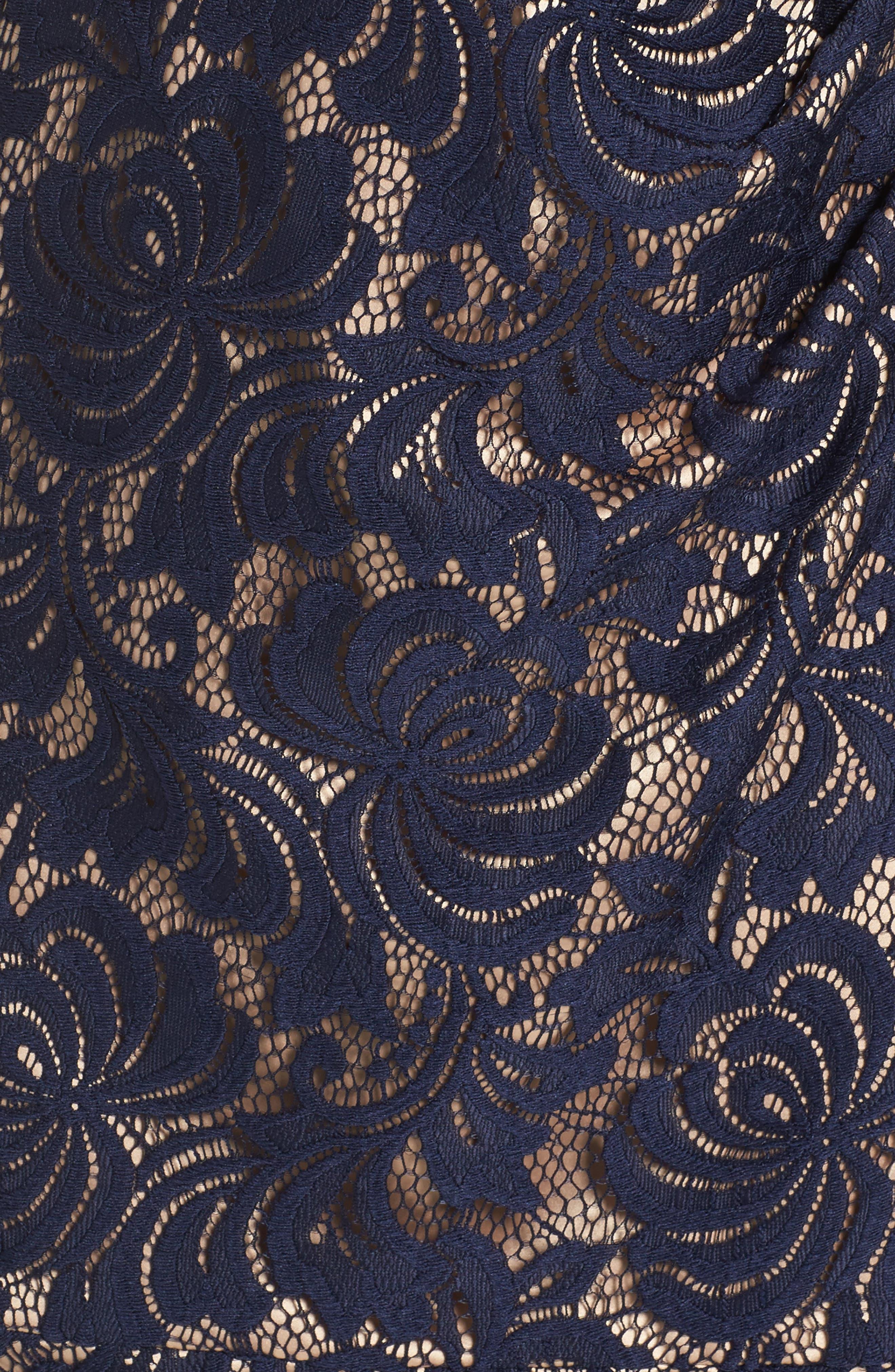 Alternate Image 5  - Eliza J Lace Midi Dress