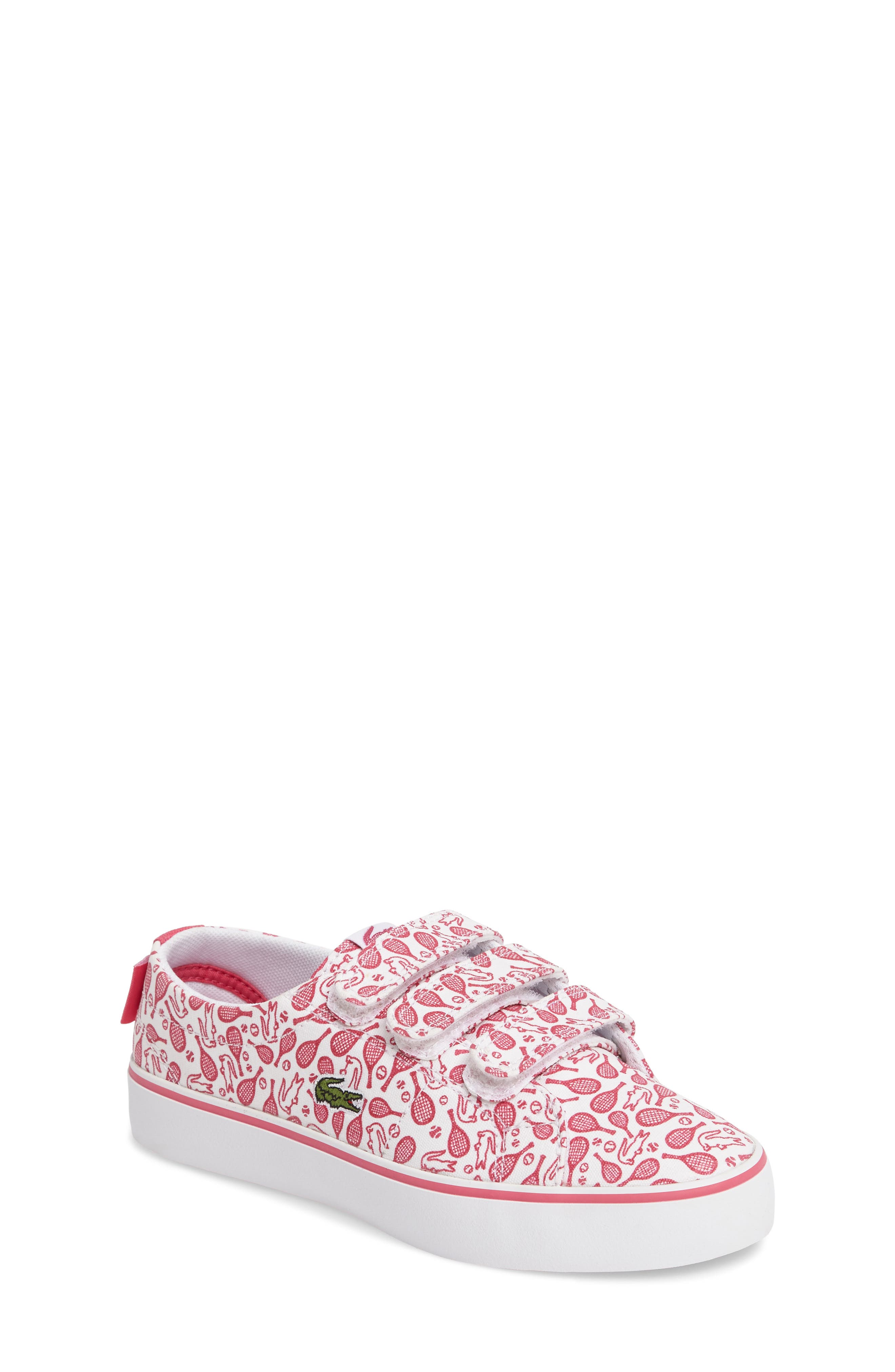 Lacoste Marcel Chunky Tennis Racket Sneaker (Baby, Walker, Toddler & Little Kid)