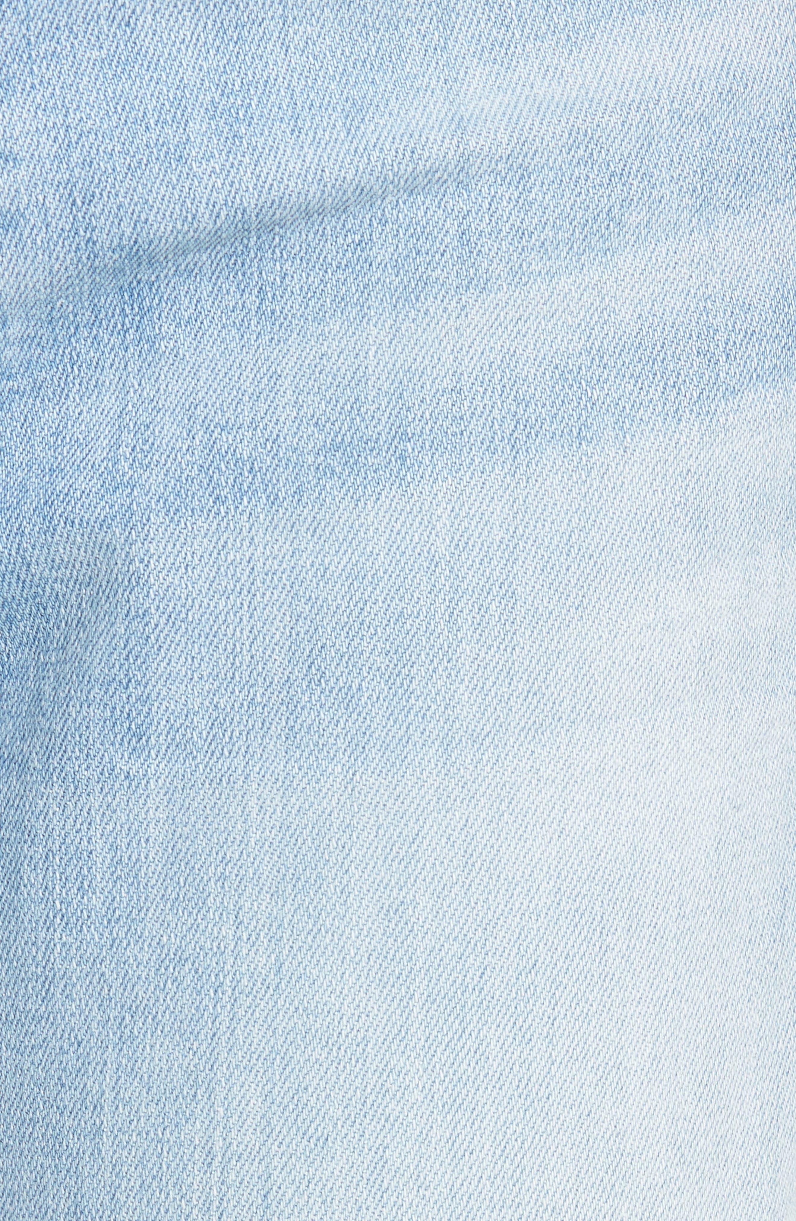 Alternate Image 5  - 7 For All Mankind® 'Josefina' Boyfriend Jeans (Ocean Breeze)