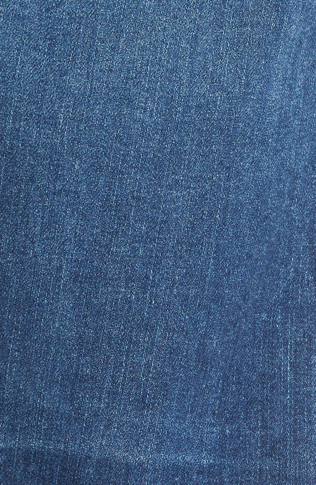 Graduate Slim Straight Leg Jeans,                             Alternate thumbnail 5, color,                             11 Years Delom