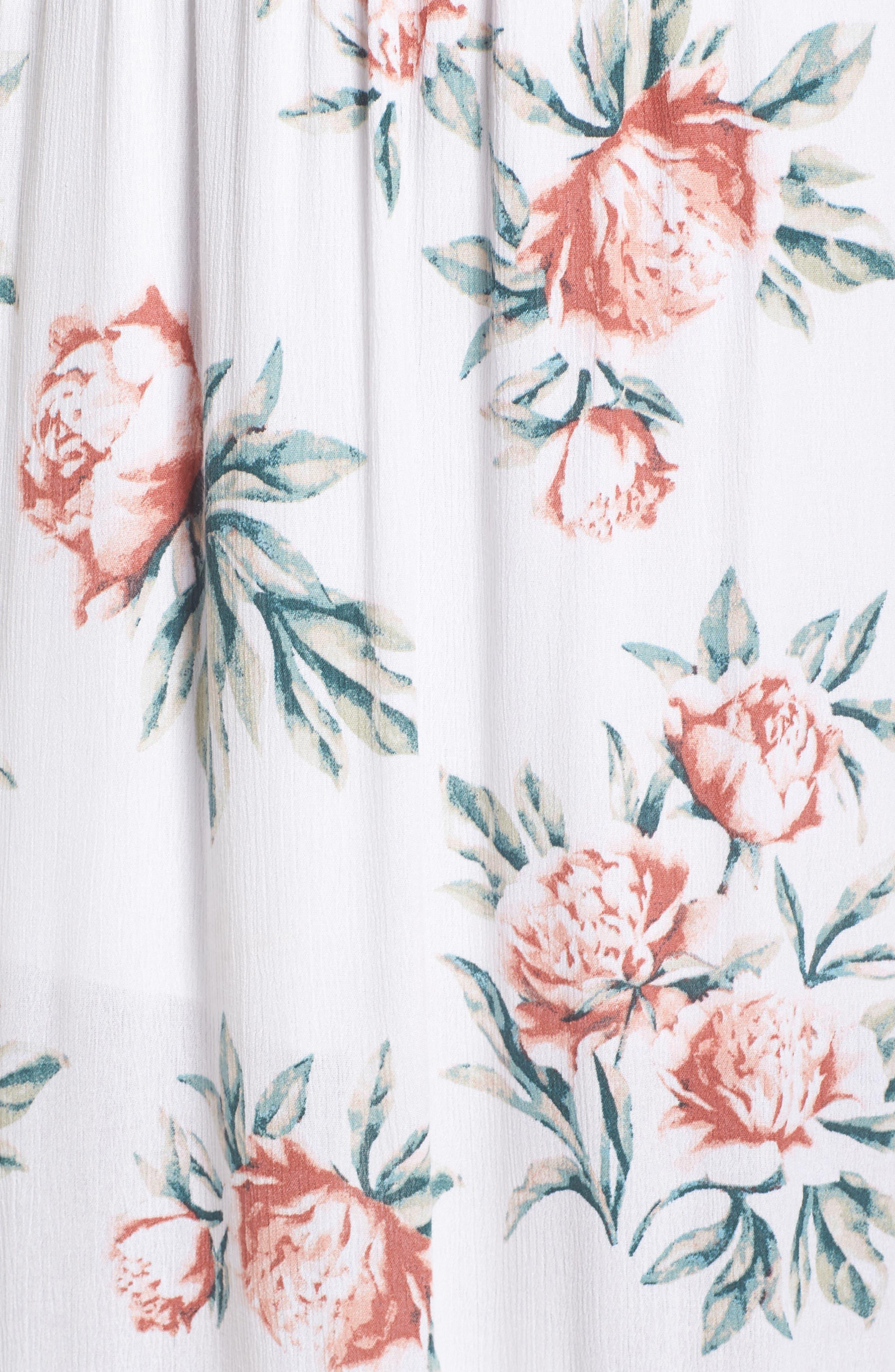 Alternate Image 5  - Dee Elly Floral Print Maxi Dress