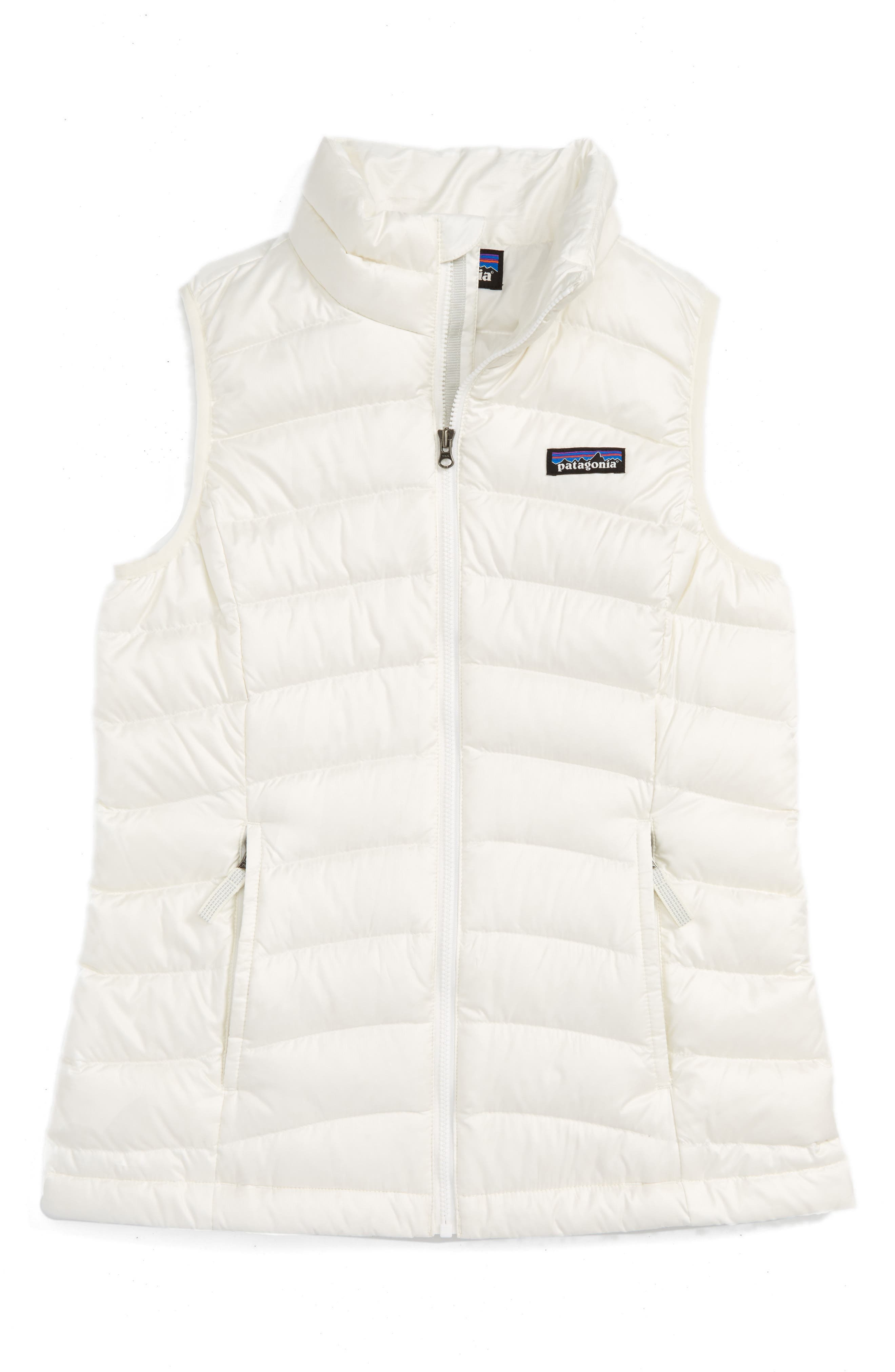 Patagonia Water Repellent Down Sweater Vest (Little Girls & Big Girls)