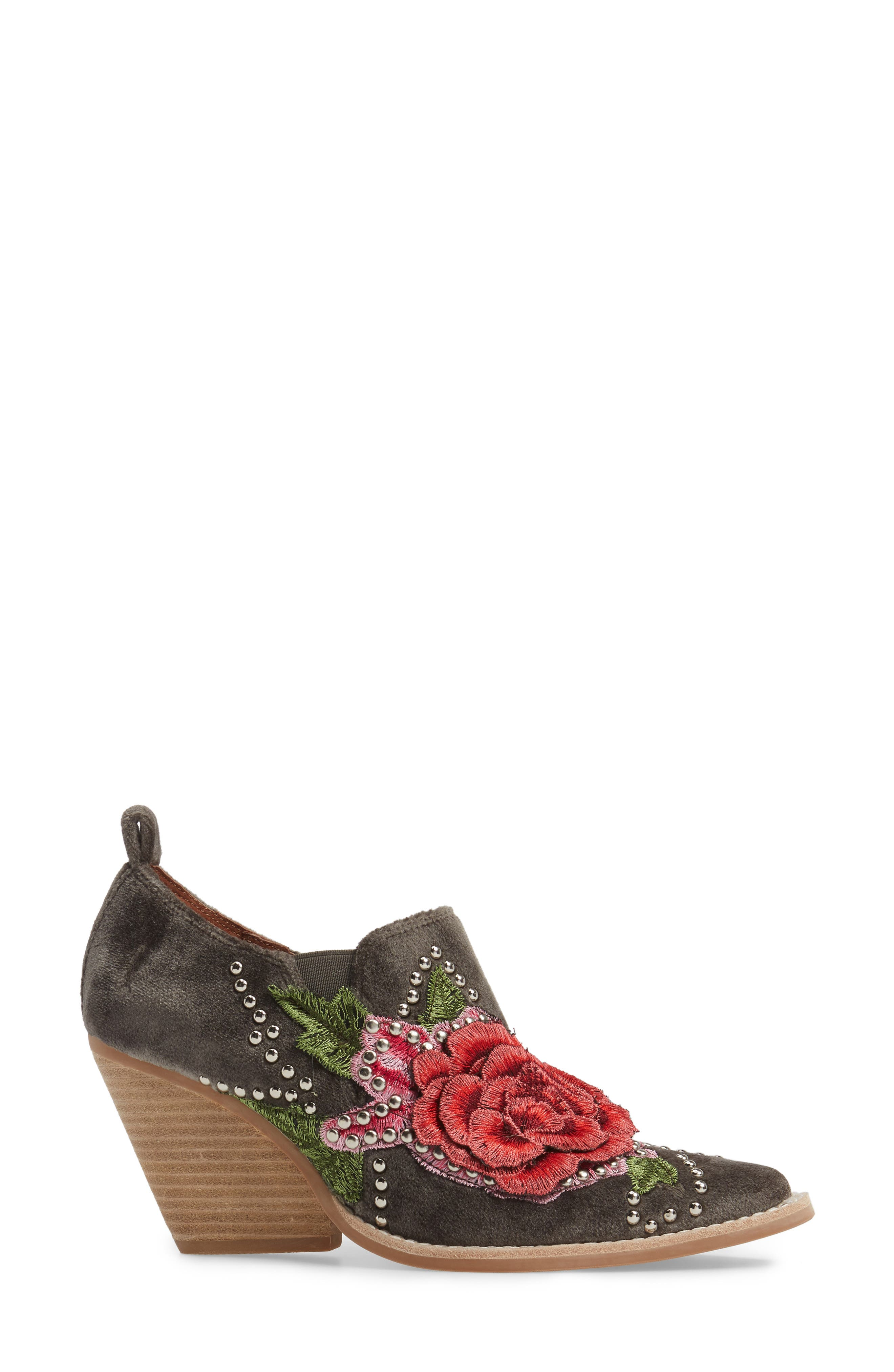 Alternate Image 3  - Jeffrey Campbell Roseola Studded Appliqué Bootie (Women)