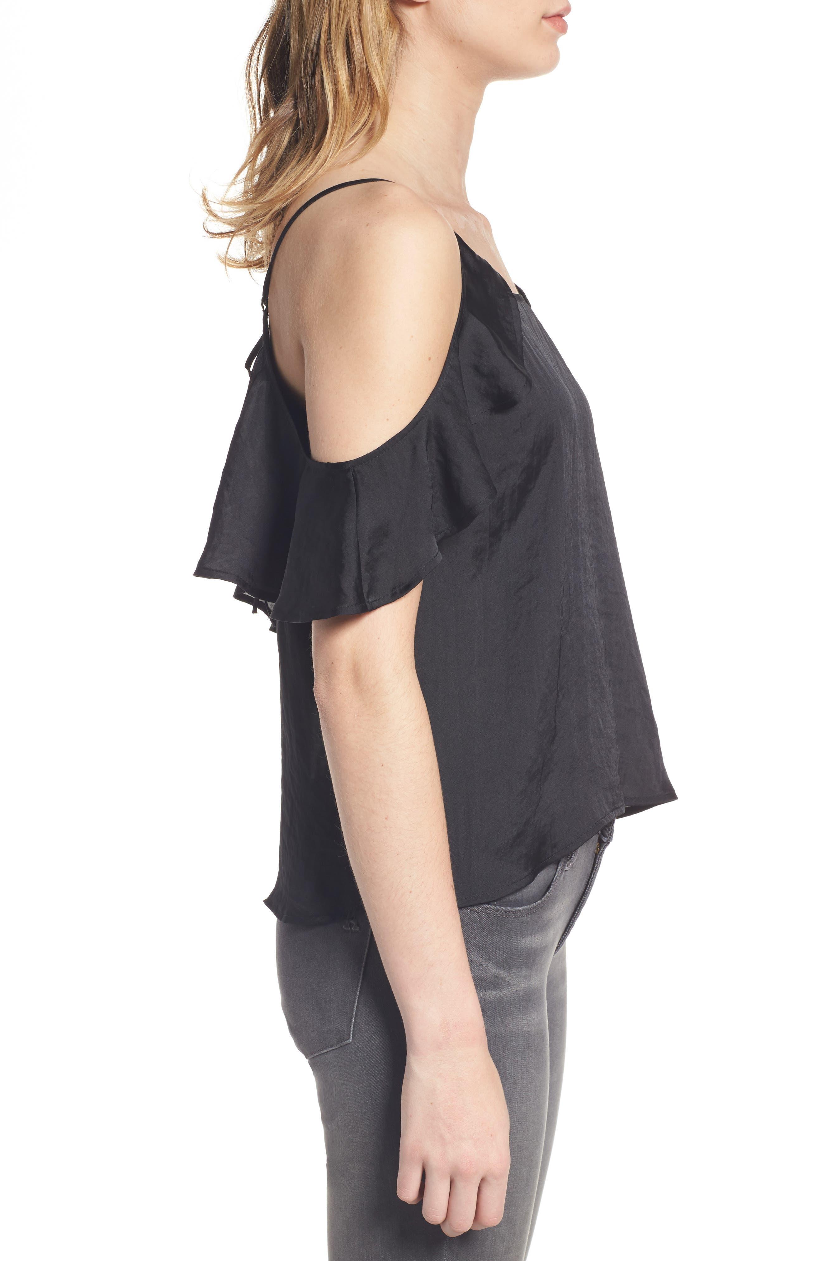 Alternate Image 3  - BP. Drape Ruffle Camisole