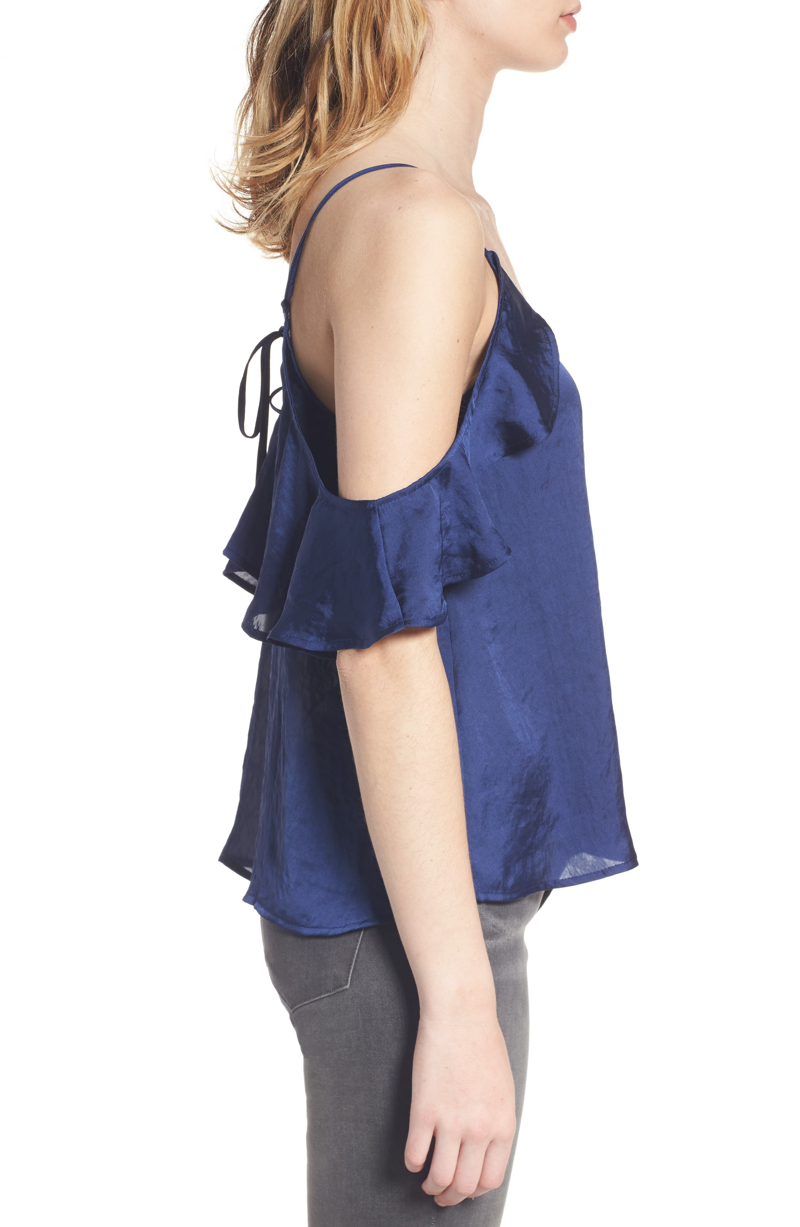 Alternate Image 3  - BP. Drape Ruffle Camisole