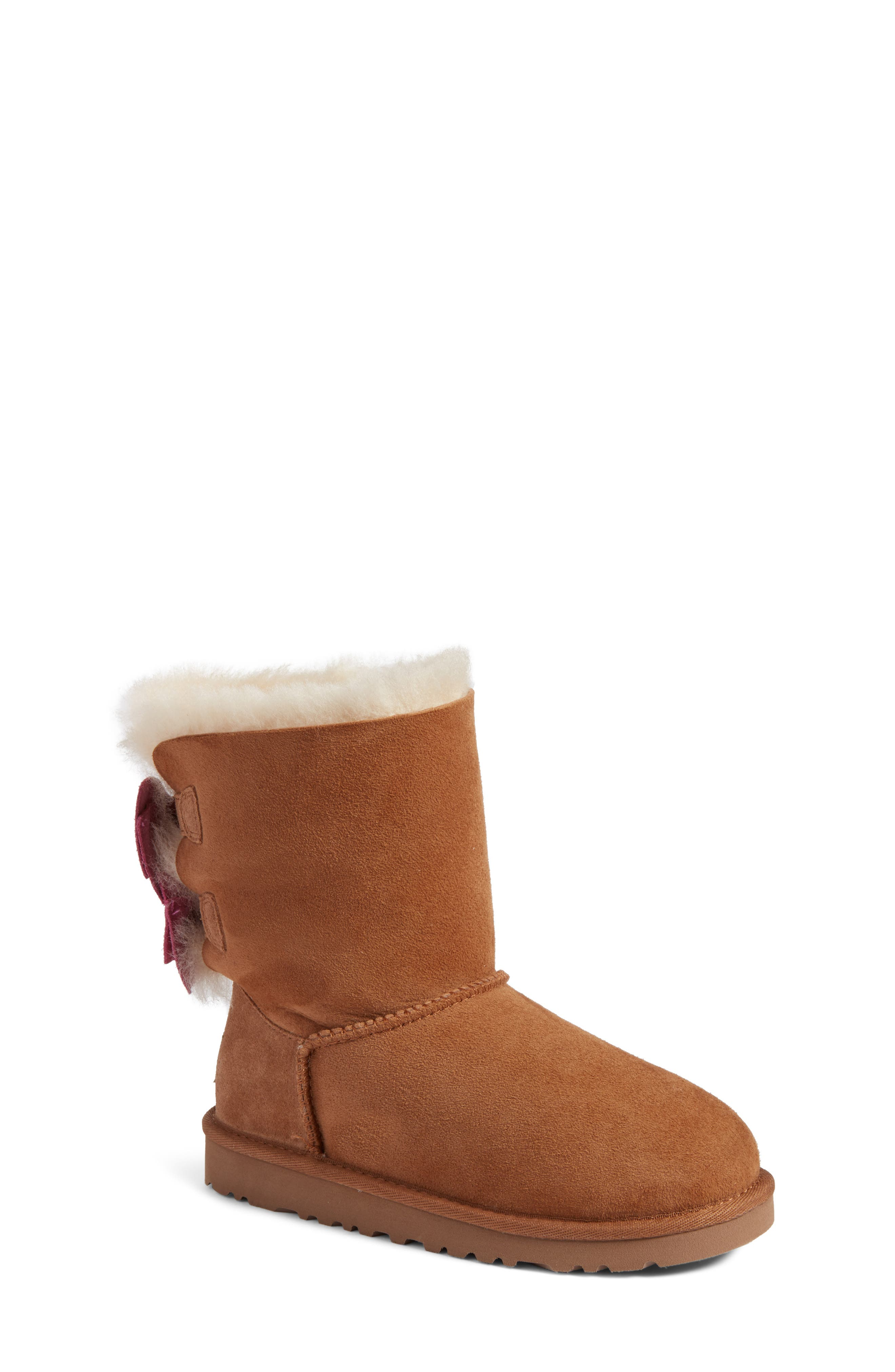 UGG® Meilani Dots Boot with Genuine Shearling (Walker, Toddler, Little Kid & Big Kid)
