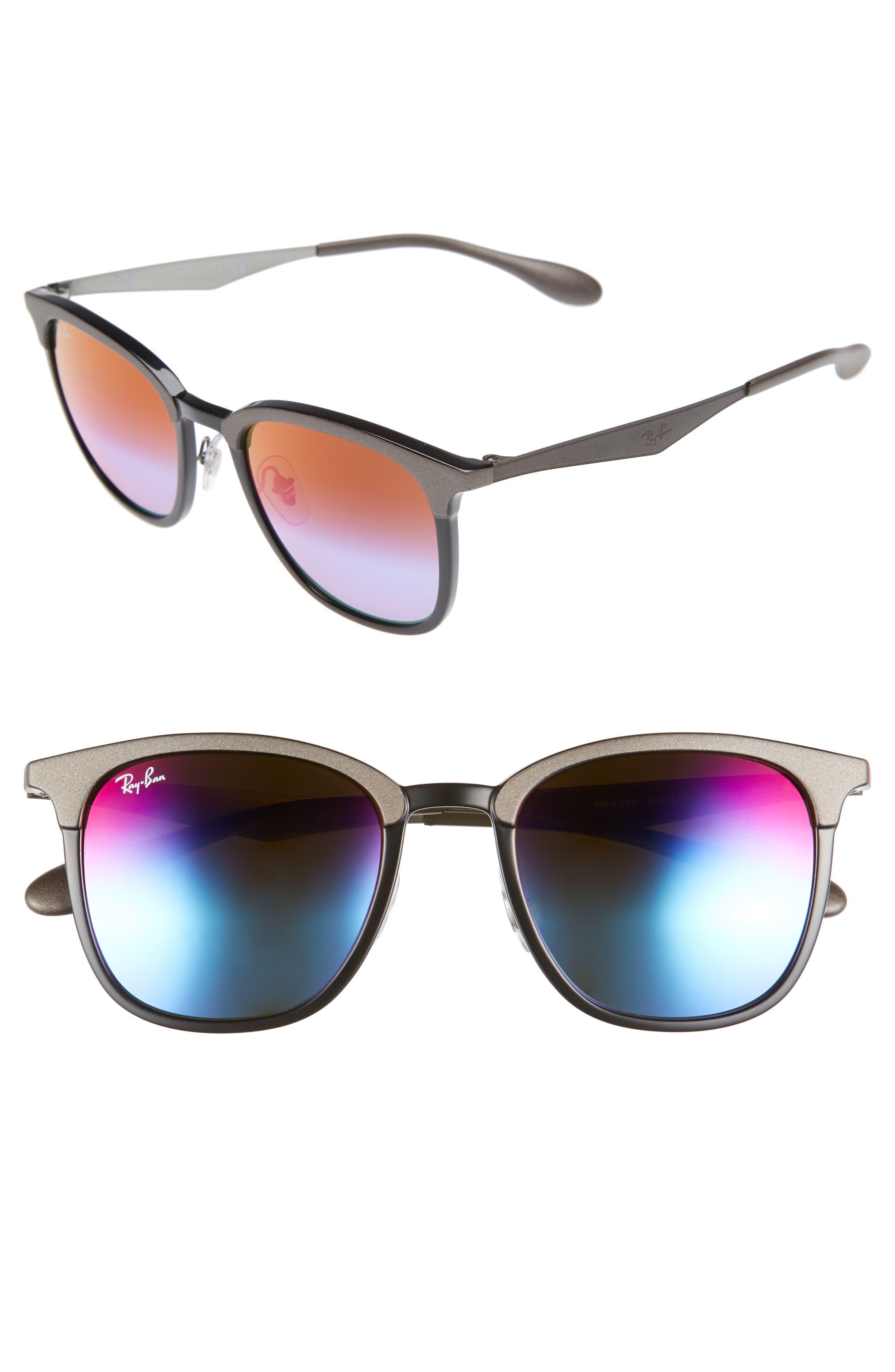 Highstreet 51mm Sunglasses,                         Main,                         color, Dark Grey