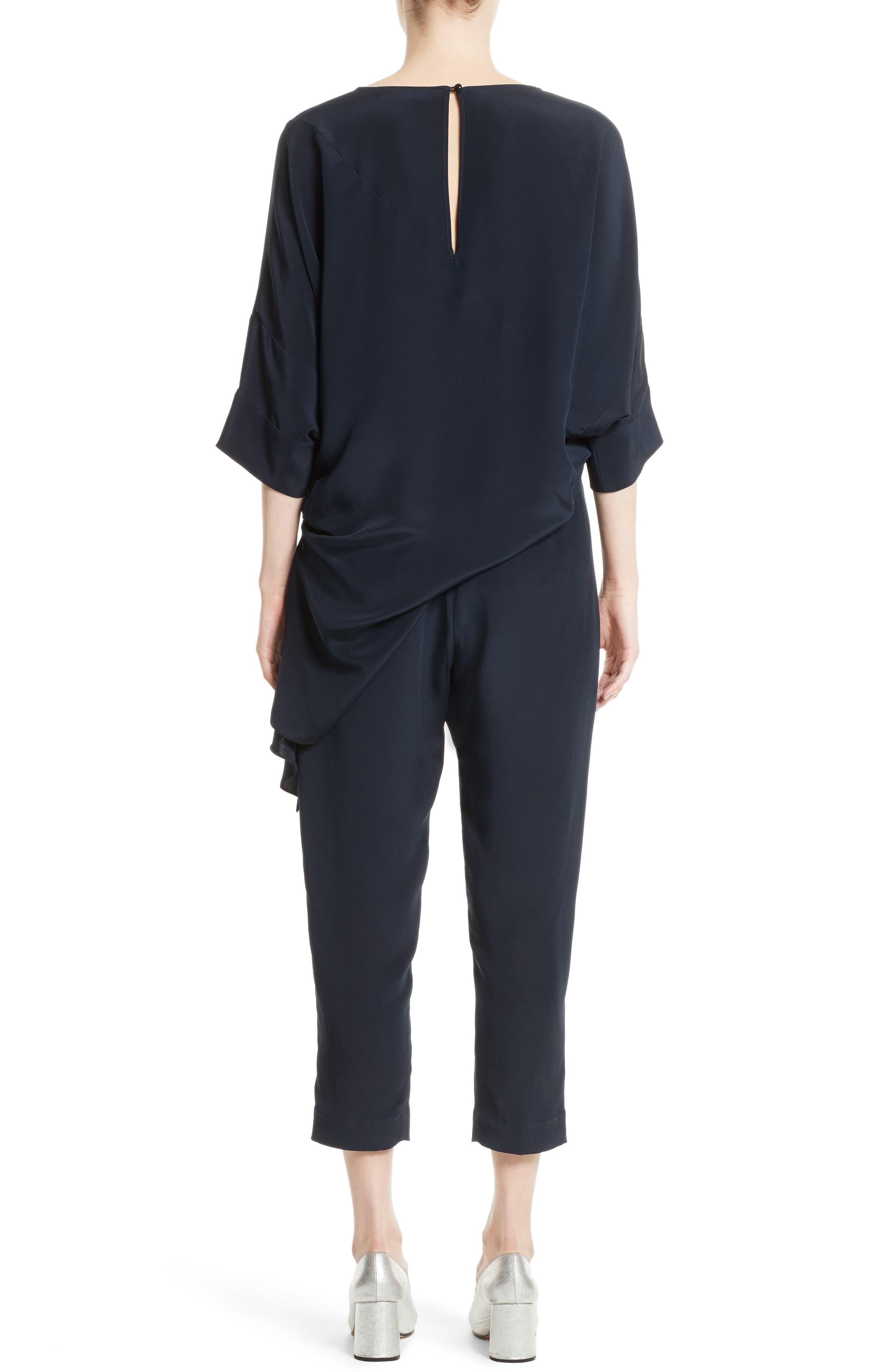 Alternate Image 2  - Rachel Comey Grateful Silk Crepe Jumpsuit
