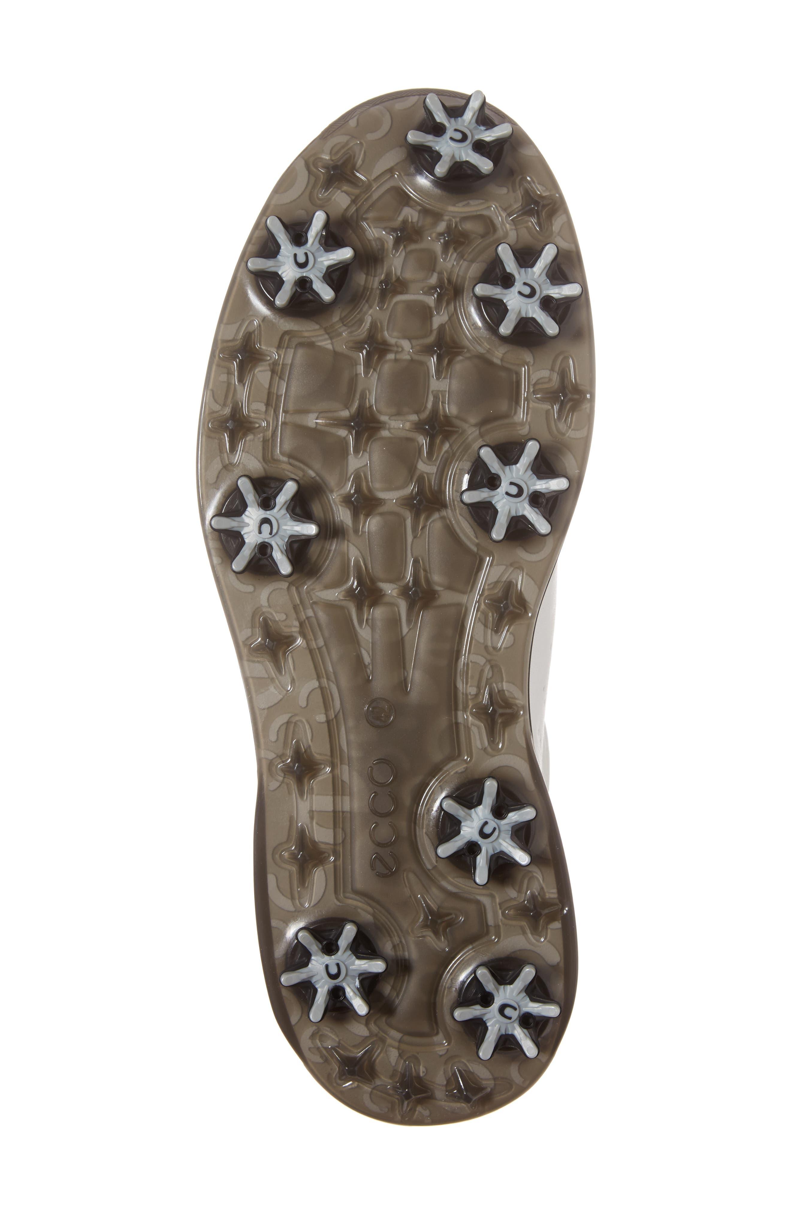 Cool GTX Golf Shoe,                             Alternate thumbnail 6, color,                             White/ Black