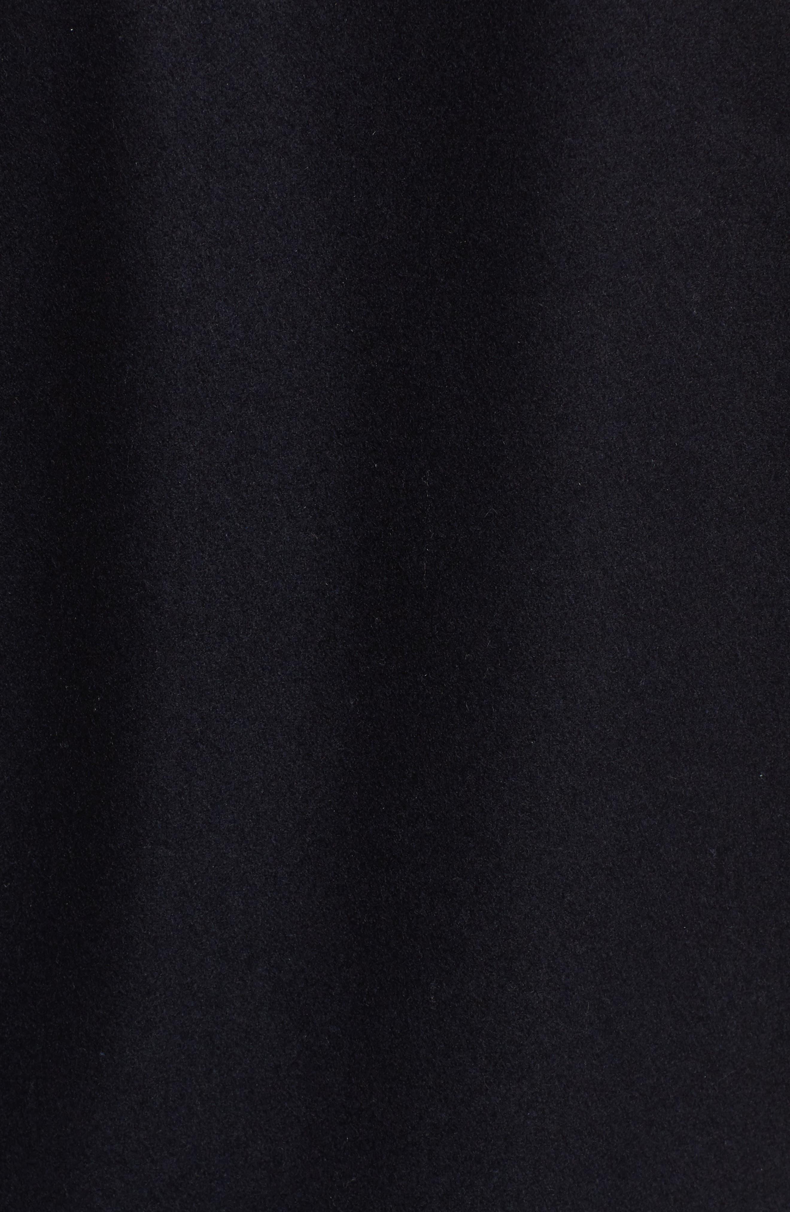Alternate Image 5  - Tommy Hilfiger Mixed Media Varsity Jacket