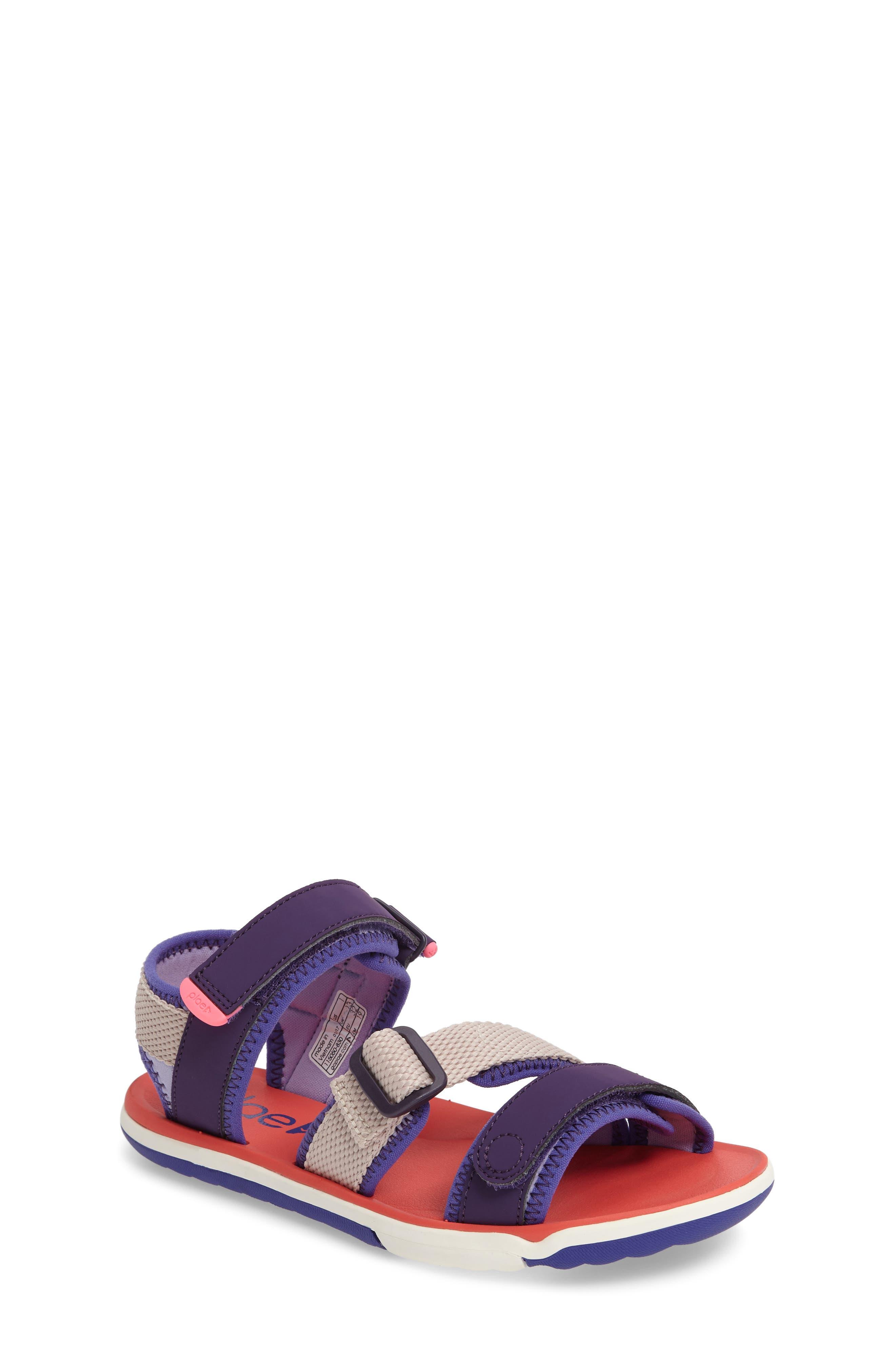 PLAE Wes Customizable Sandal (Toddler & Little Kid)