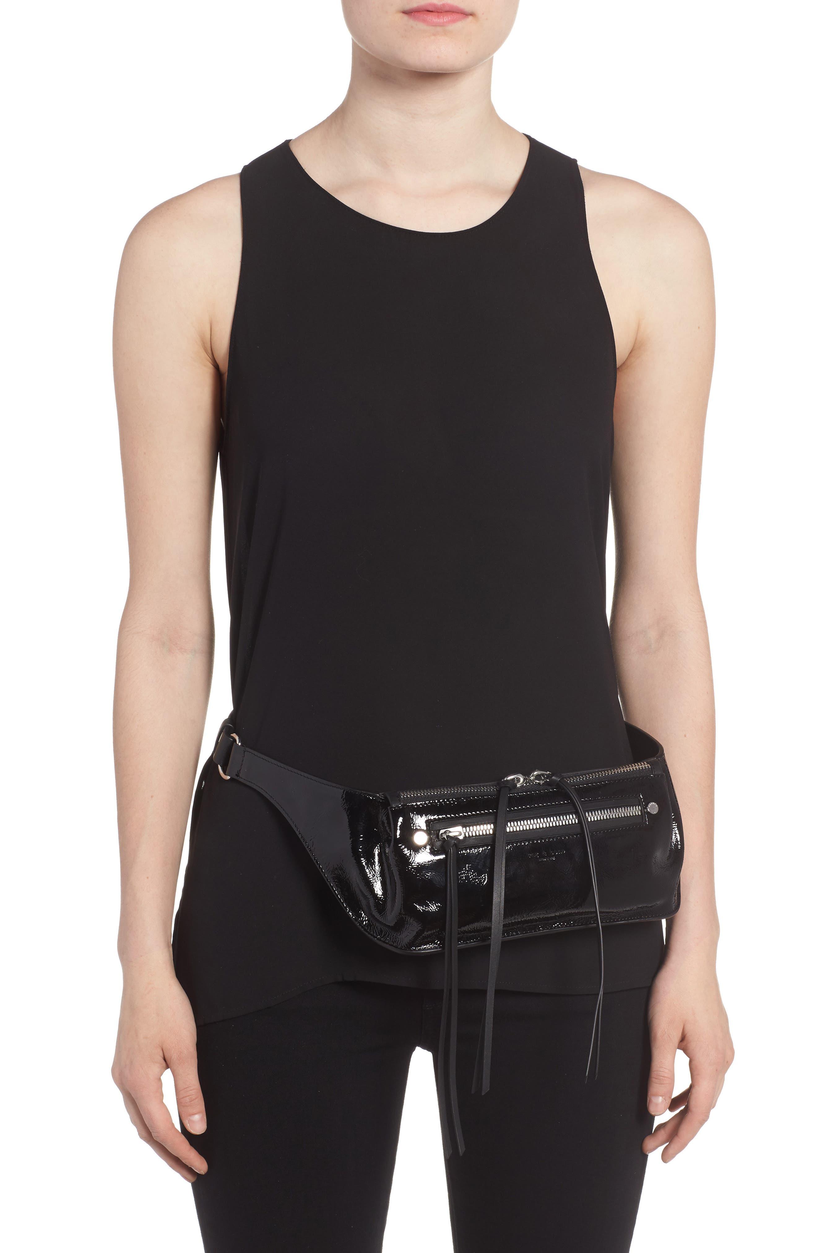 Alternate Image 2  - rag & bone Ellis Patent Leather Fanny Pack