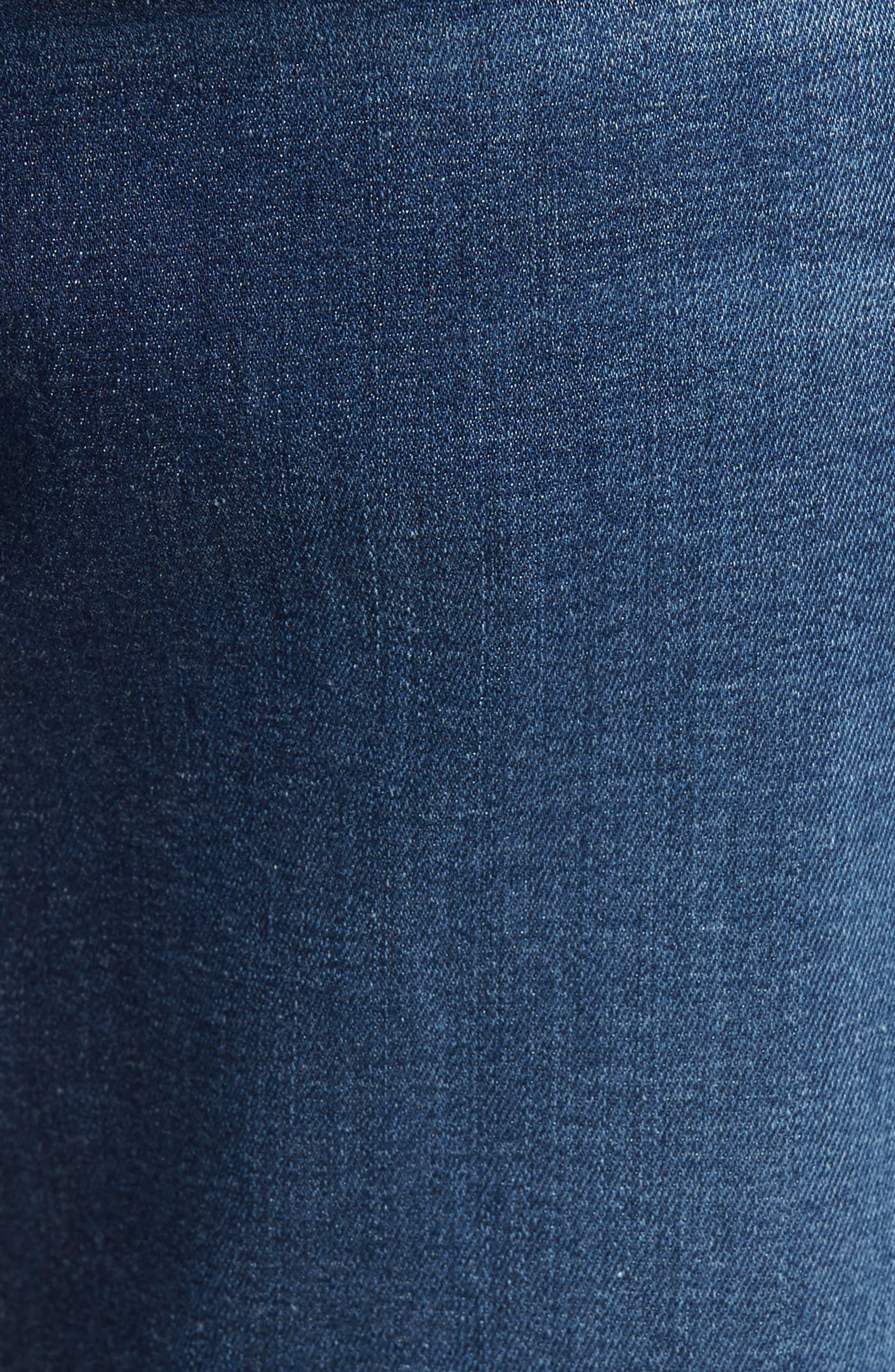 Alternate Image 5  - 7 For All Mankind® Slimmy Slim Fit Jeans (MOMT-Momentum)