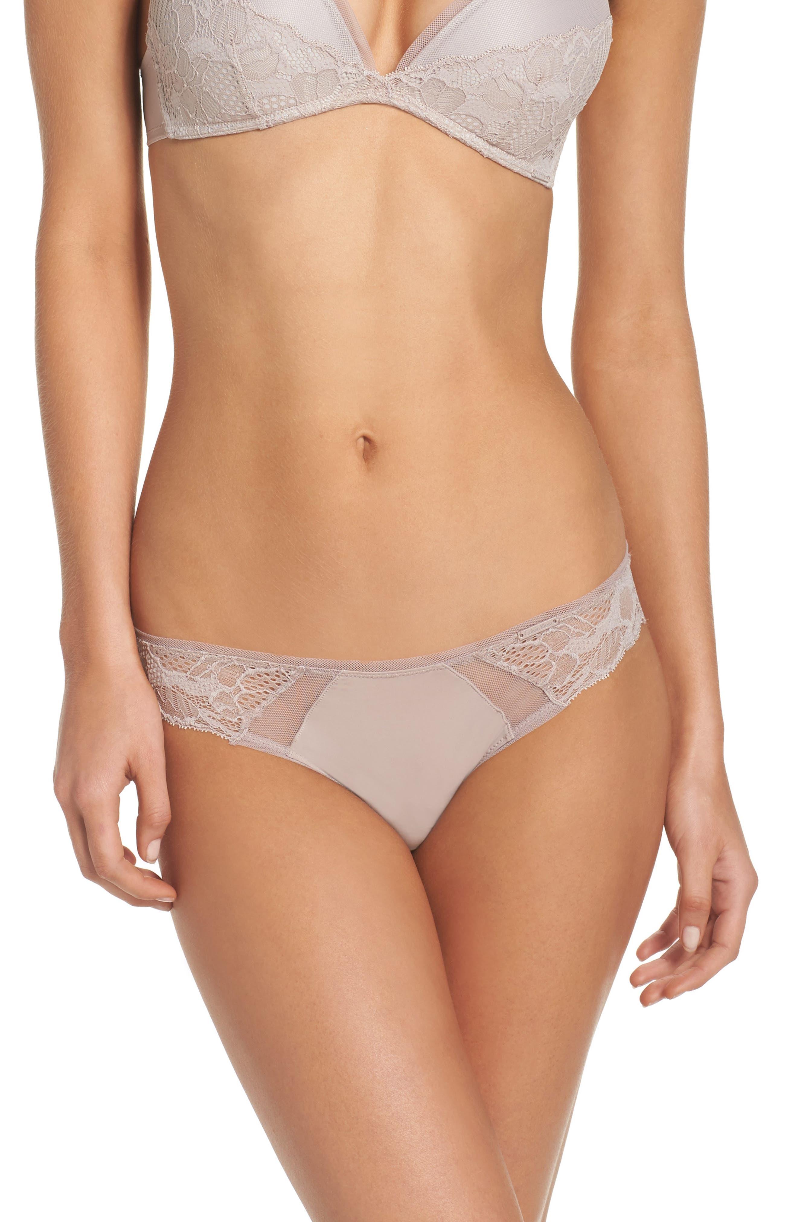 Alternate Image 1 Selected - Calvin Klein Linger Bikini