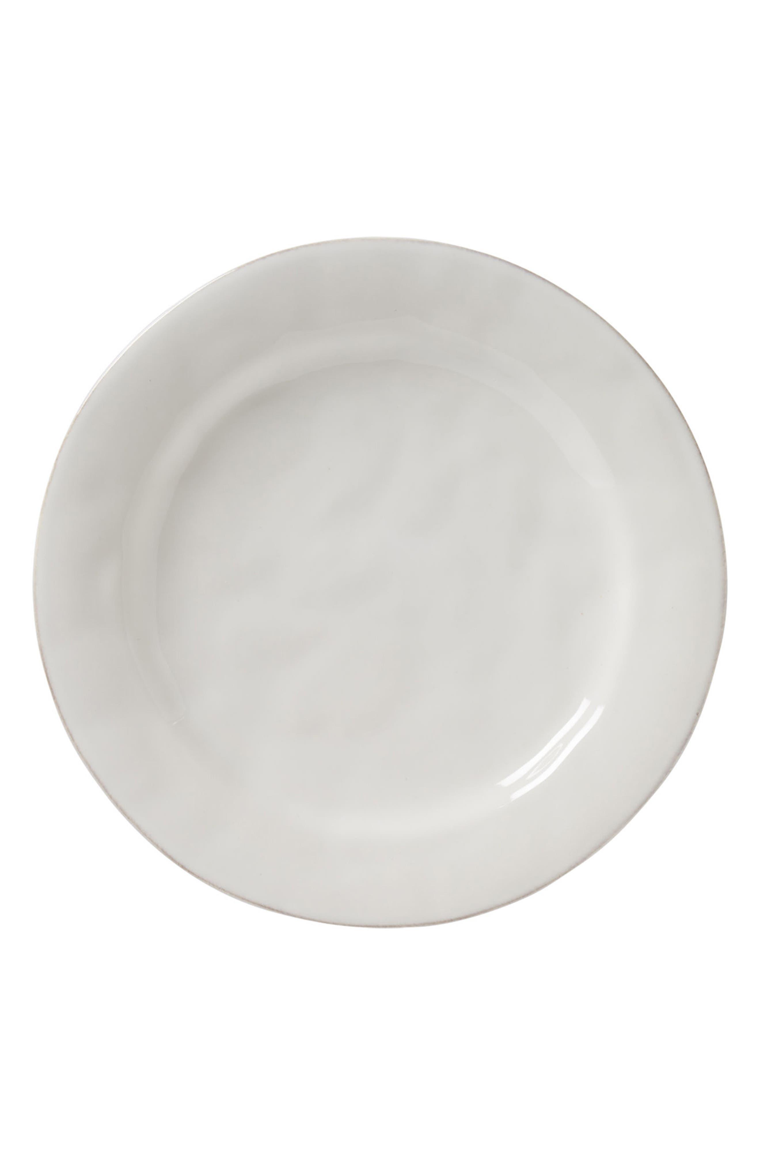 Puro Dinner Plate,                             Main thumbnail 1, color,                             Whitewash