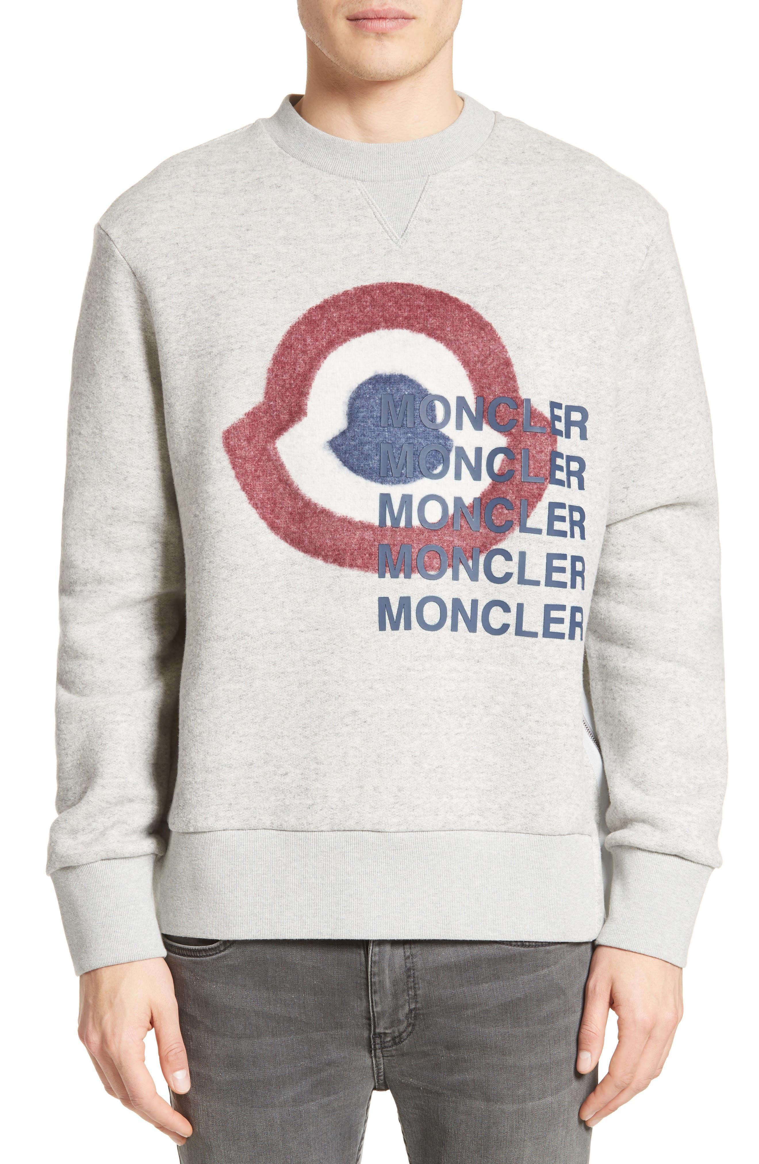 Main Image - Moncler Maglia Girocollo Sweatshirt