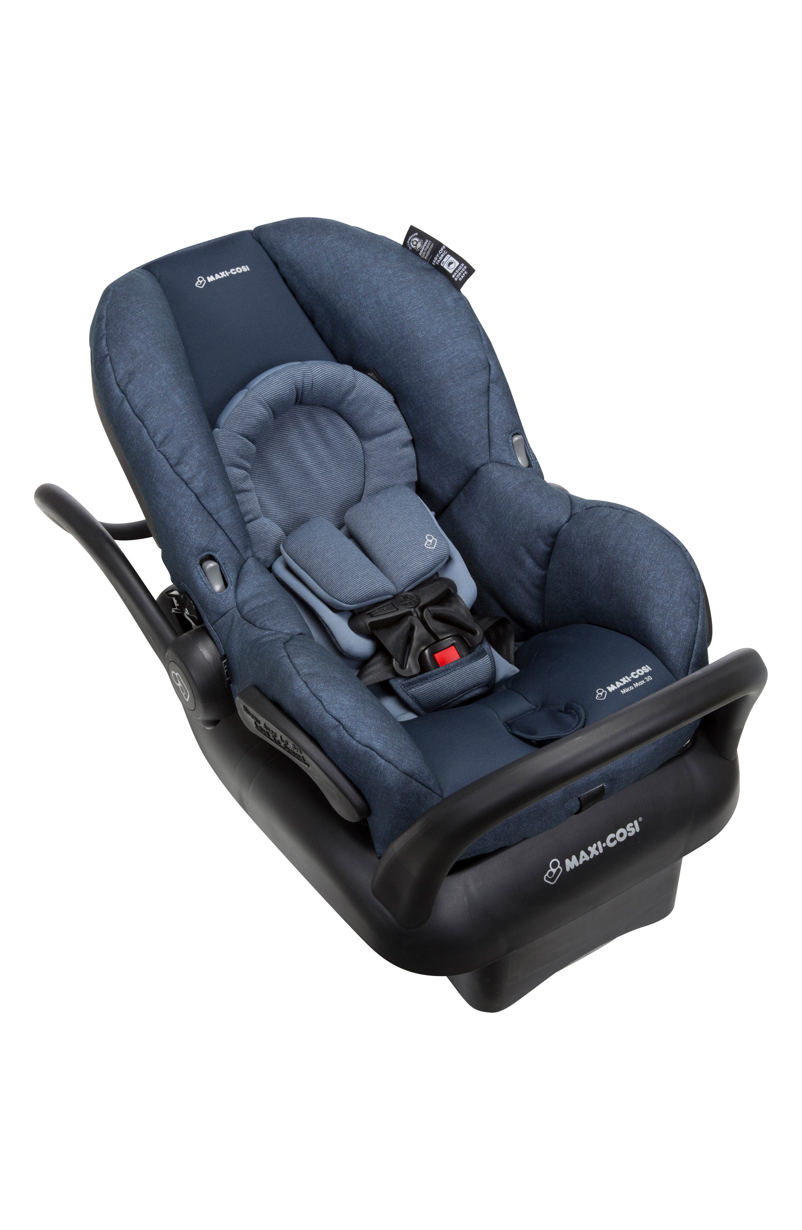 Mico Max 30 Nomad Collection Infant Car Seat,                             Alternate thumbnail 4, color,                             Nomad Blue