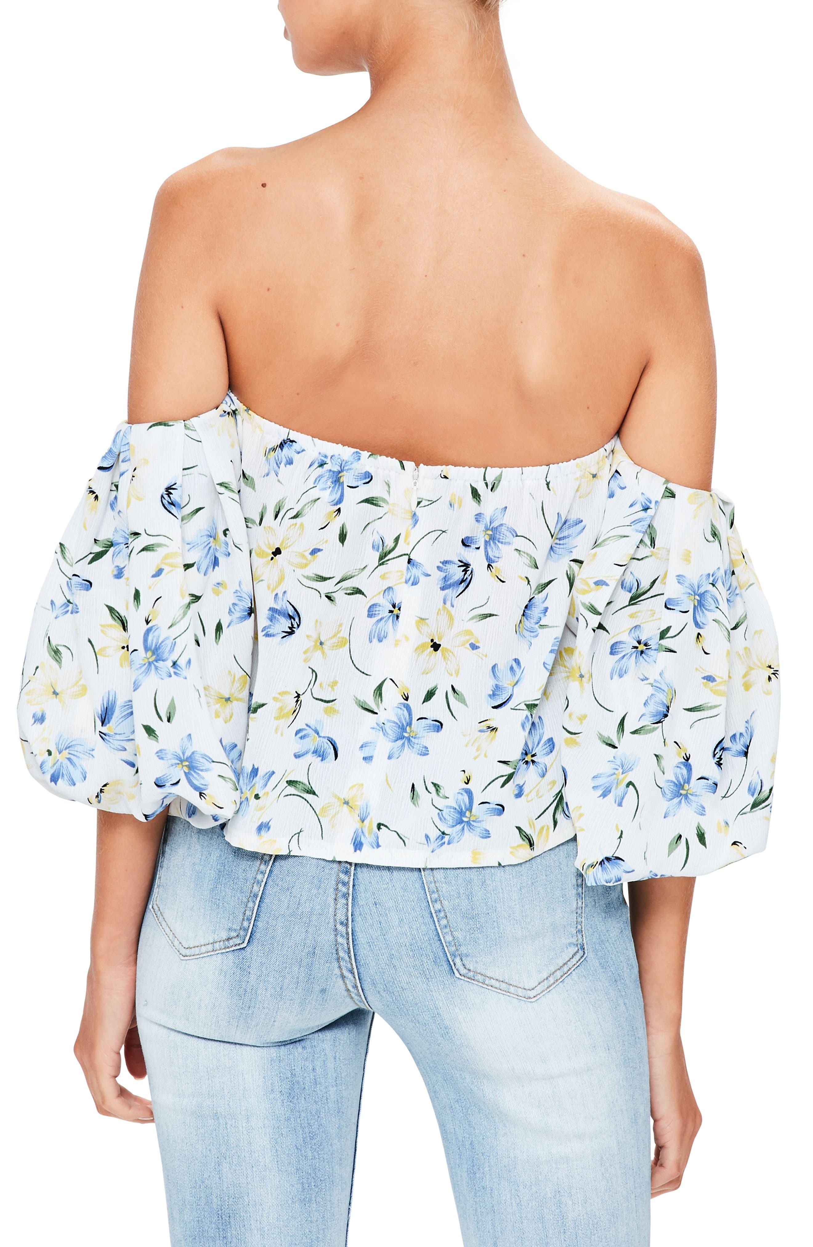 Alternate Image 3  - Missguided Bardot Off the Shoulder Blouse