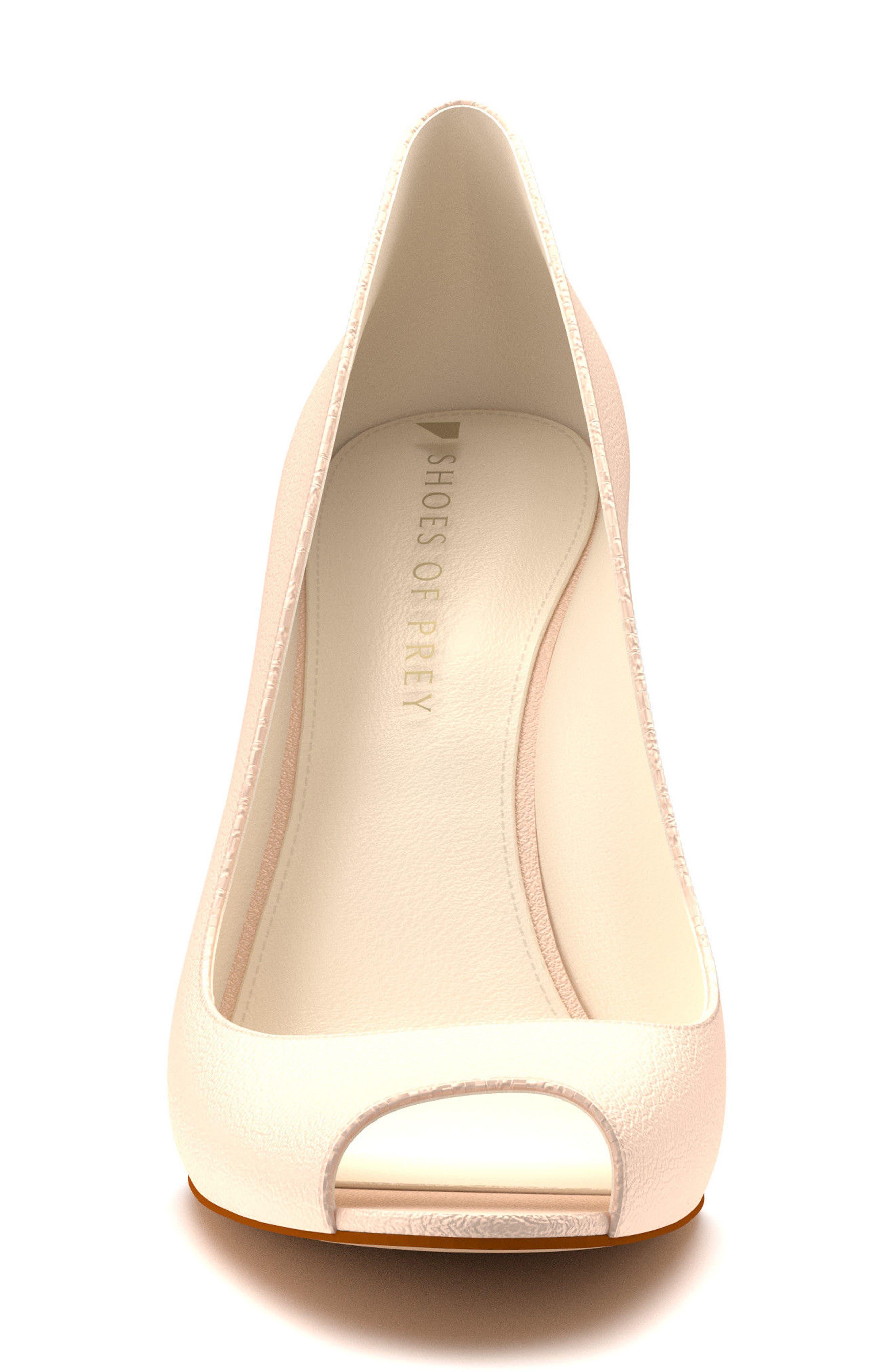 Alternate Image 4  - Shoes of Prey Peep Toe Pump (Women)