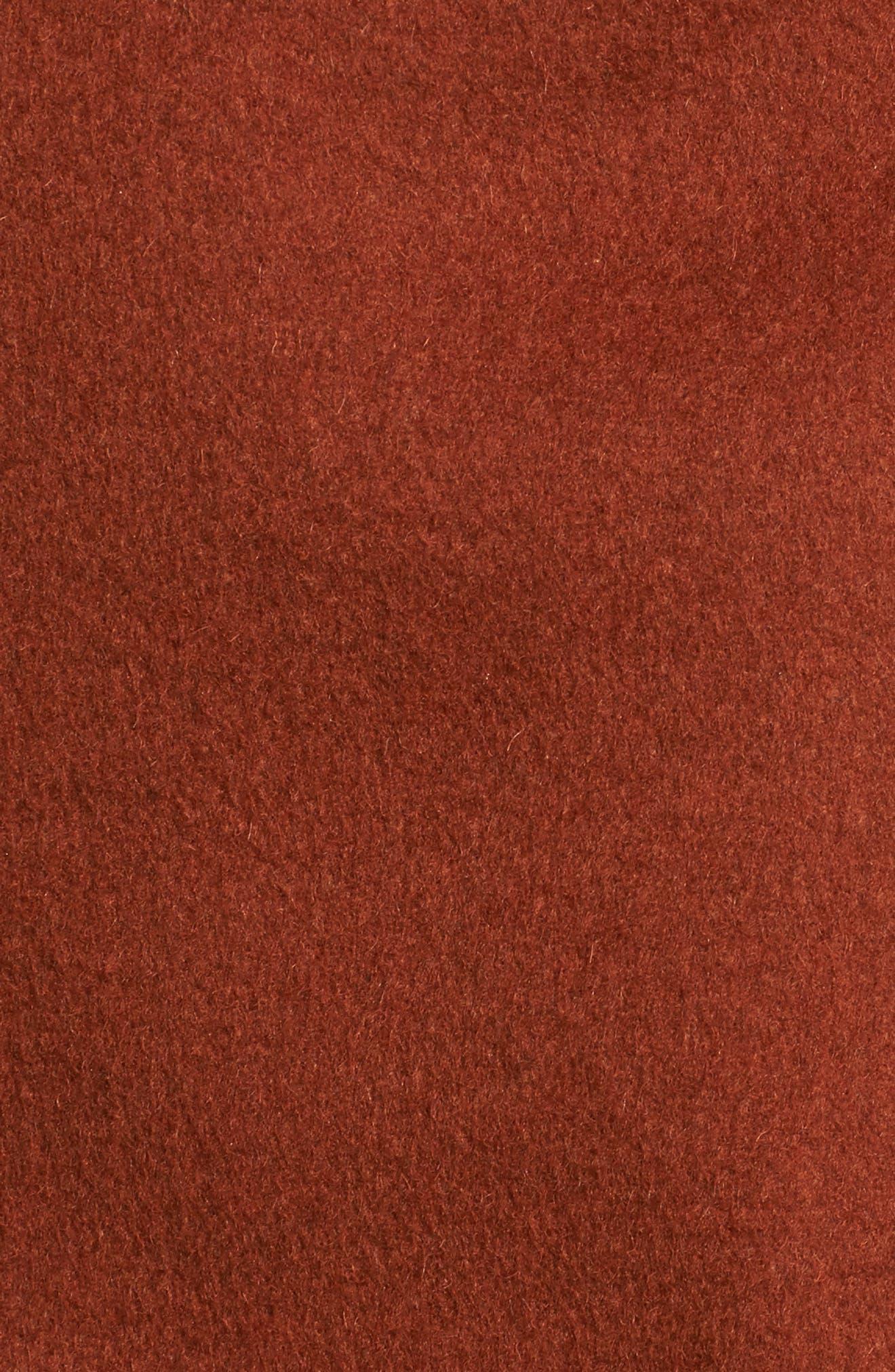 Alternate Image 6  - Kenneth Cole New York Double Face Coat (Regular & Petite)