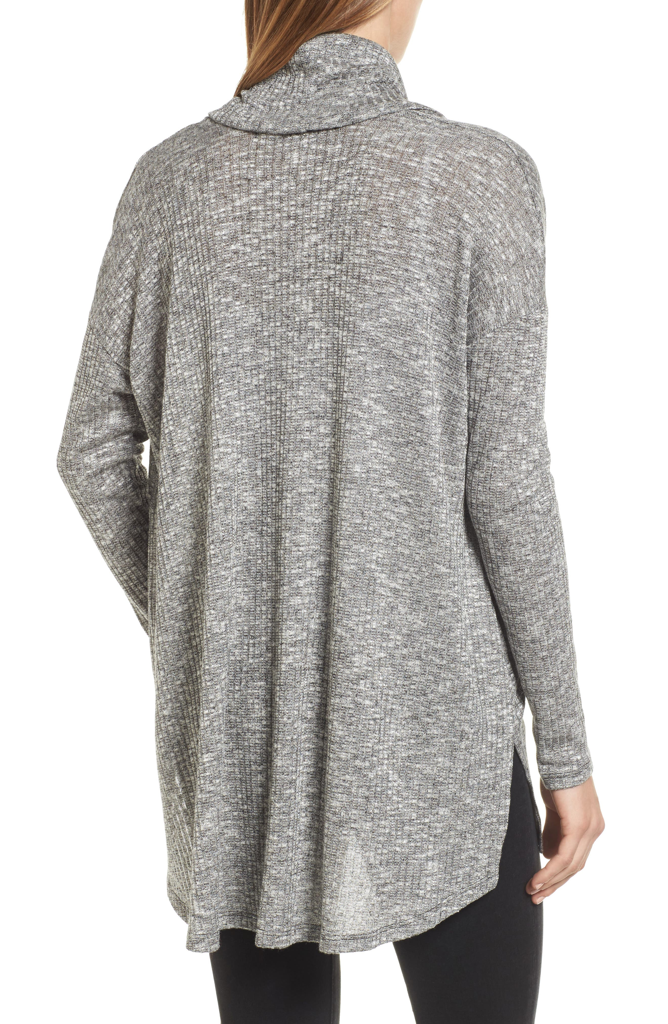 Alternate Image 2  - Michael Stars Deep Cowl Neck Knit Top