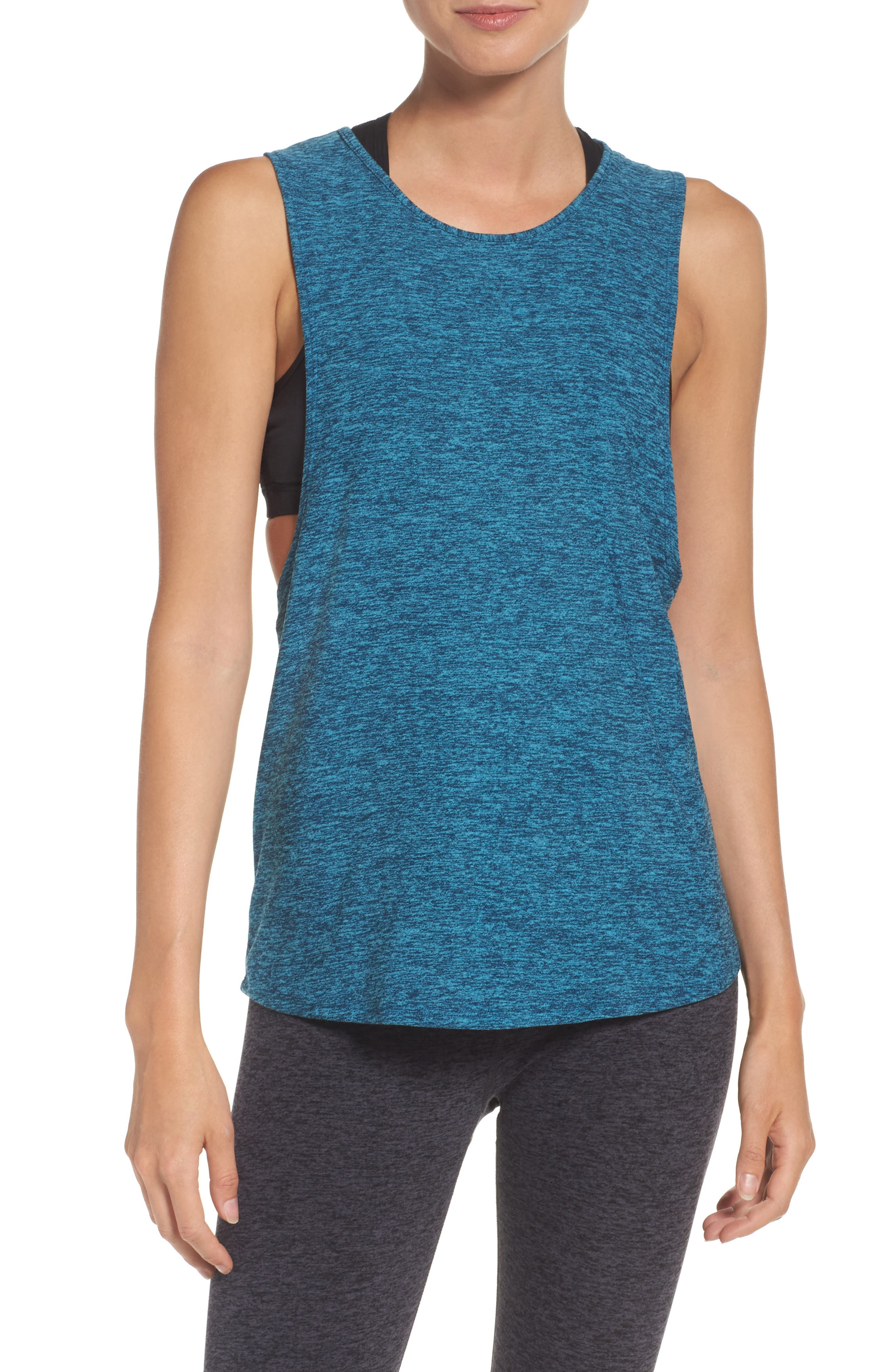 Beyond Yoga Dim the Lightweight Tank