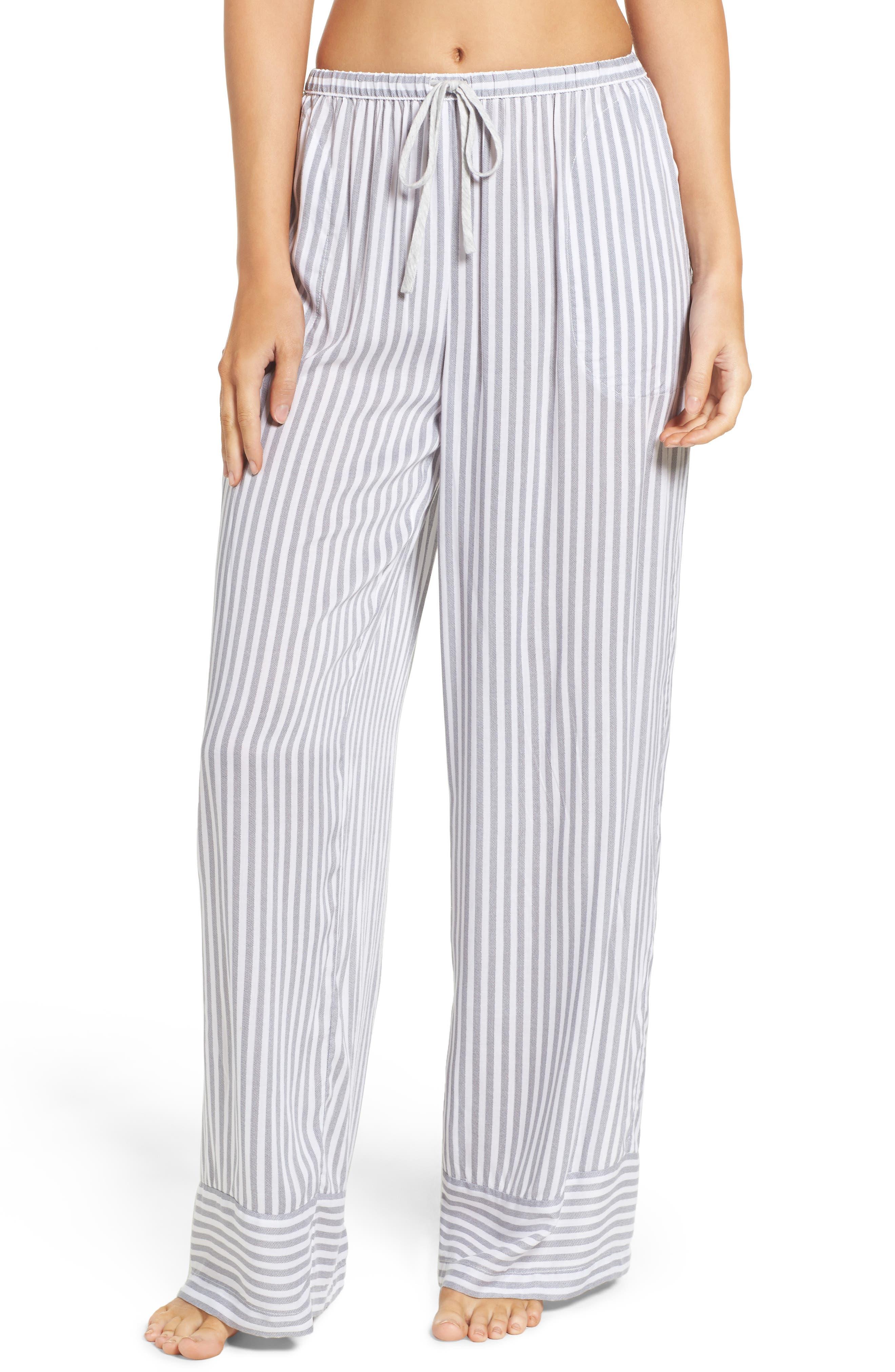 DKNY Stripe Pajama Pants