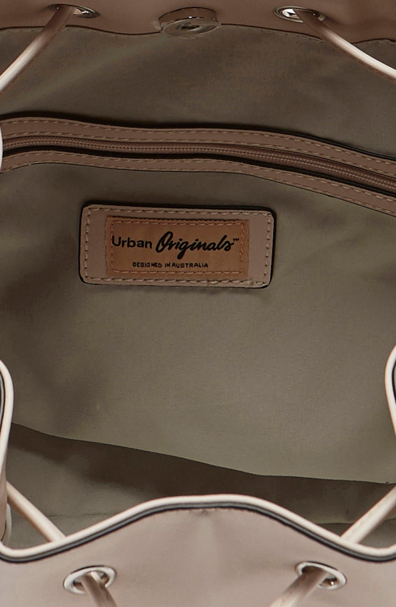 Alternate Image 3  - Urban Originals Take Me Home Vegan Leather Bag