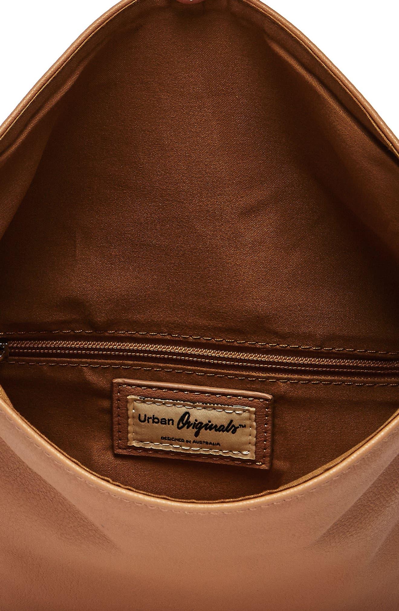 Alternate Image 2  - Urban Originals Lost Lover Vegan Leather Clutch