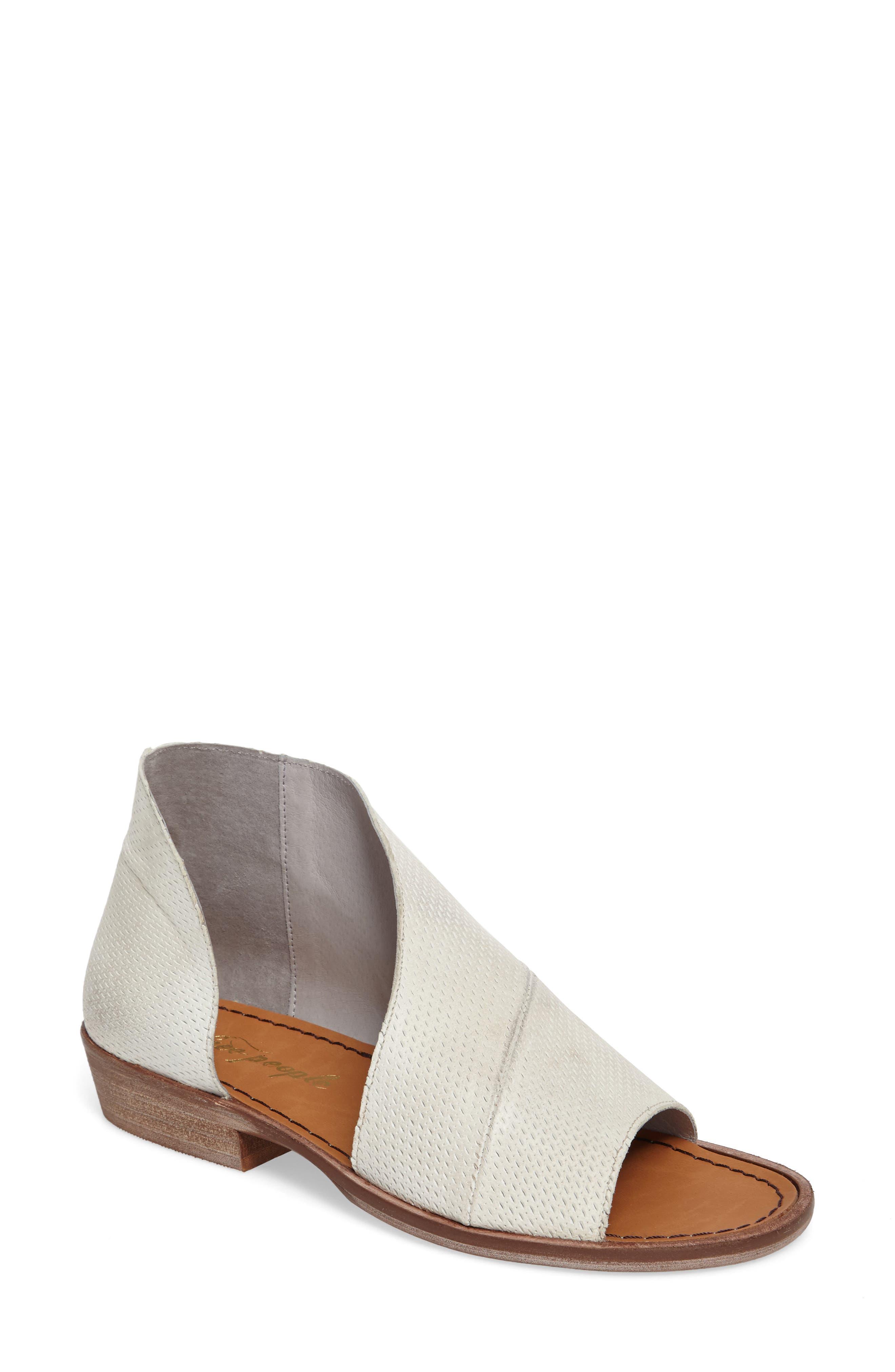 Free People 'Mont Blanc' Asymmetrical Sandal (Women)