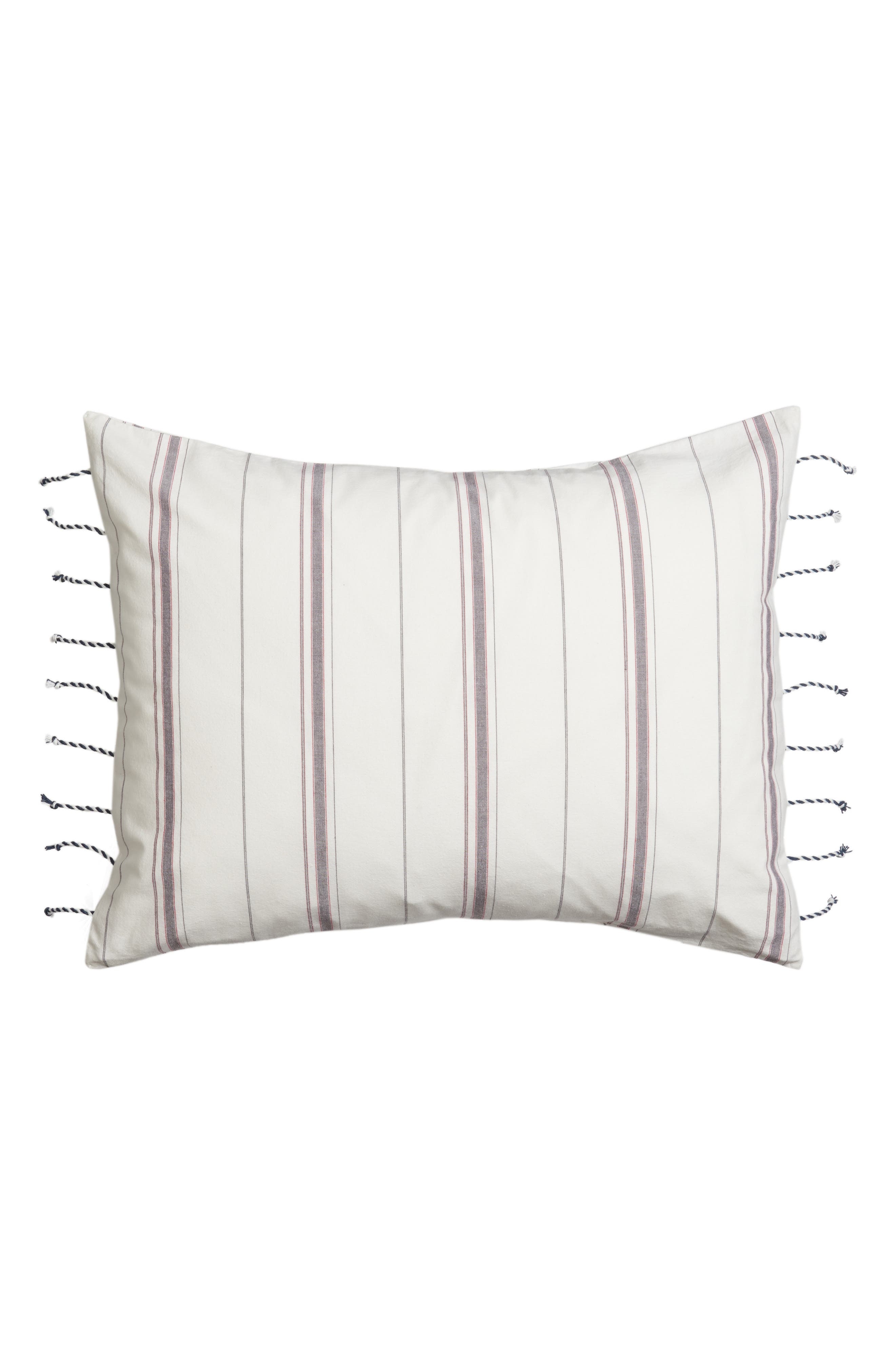 cupcakes and cashmere Mixed Stripe Sham