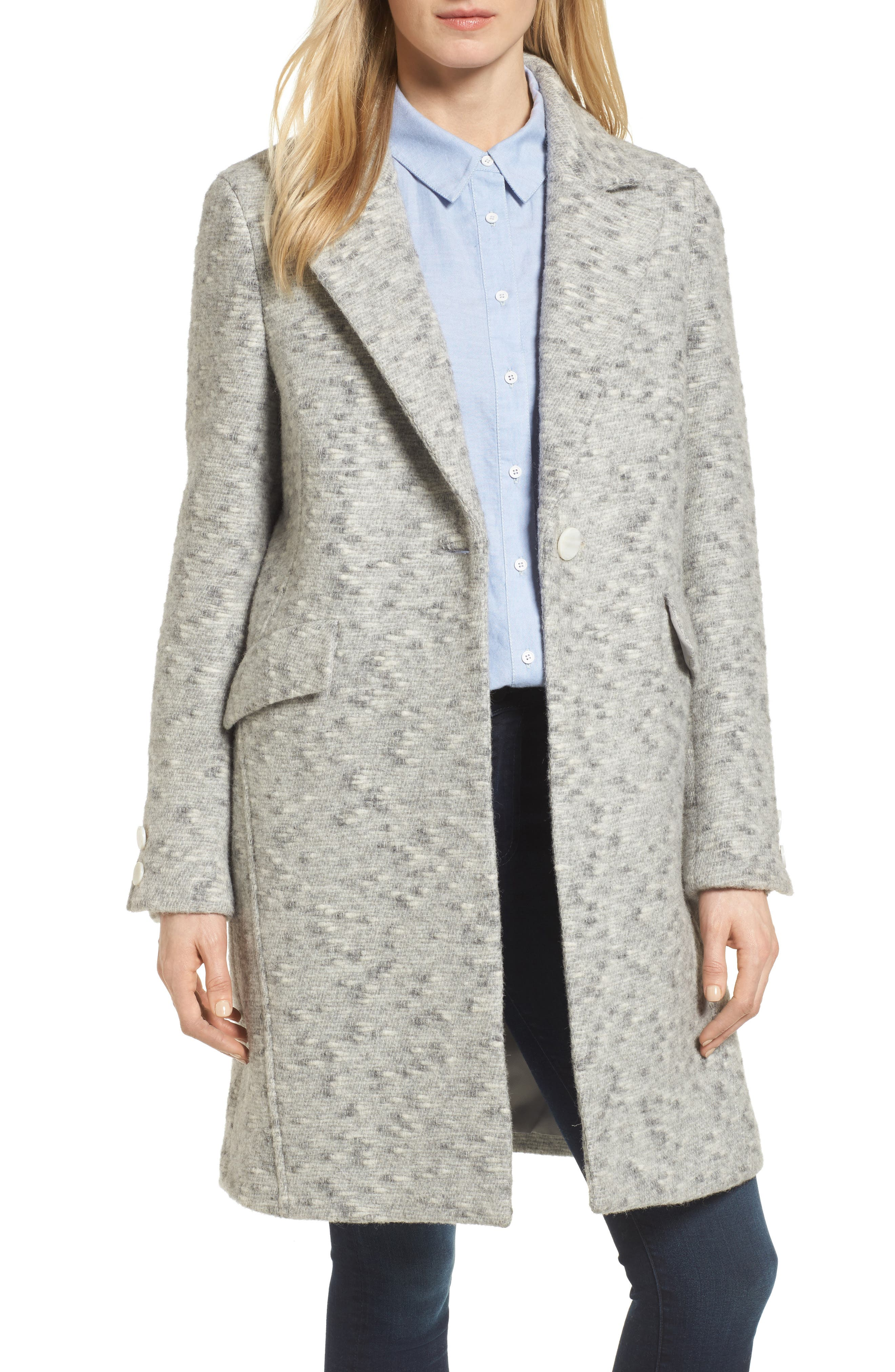 Walking Coat,                         Main,                         color, Grey