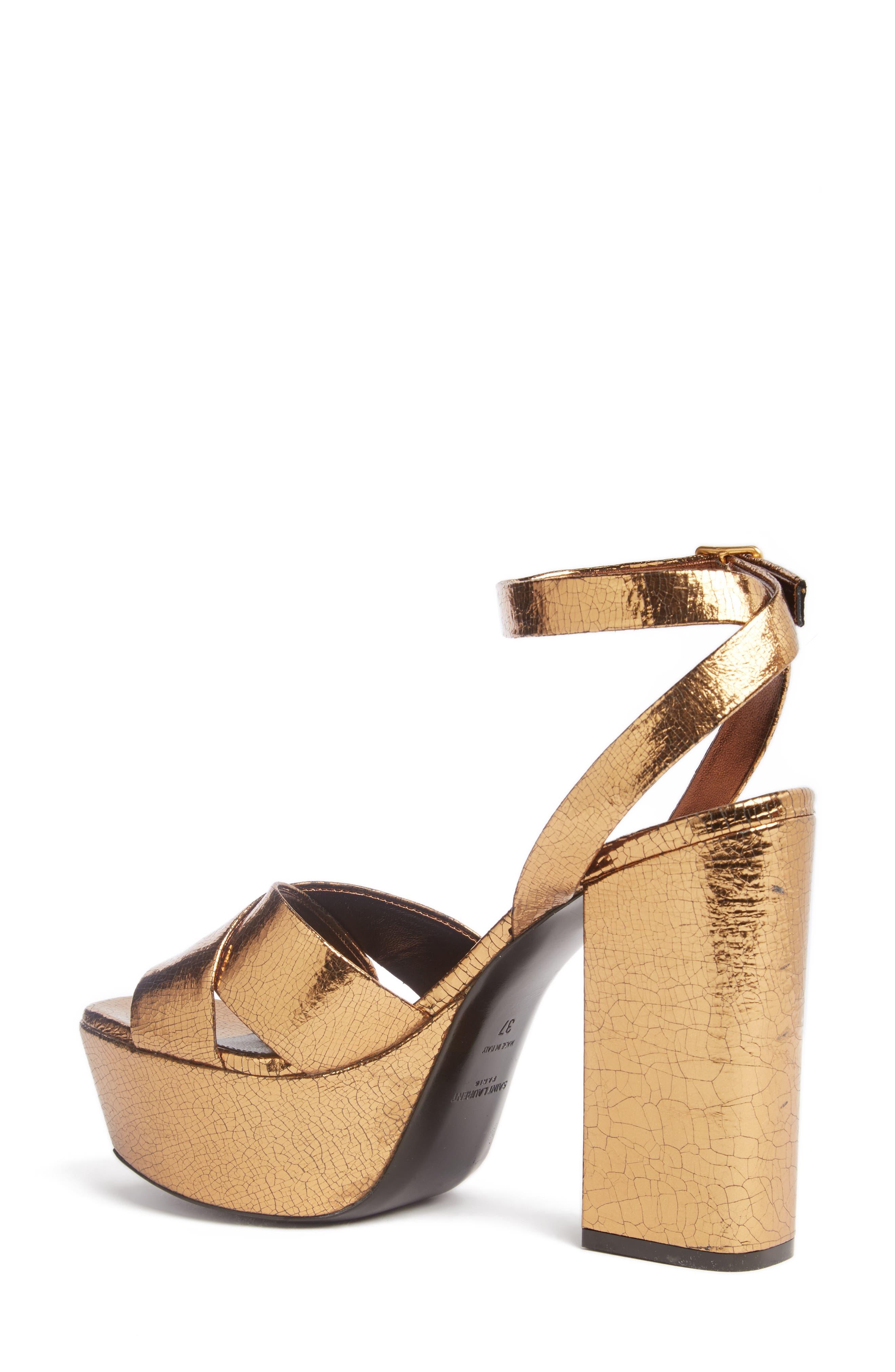 Alternate Image 2  - Saint Laurent Farrah Platform Sandal (Women)