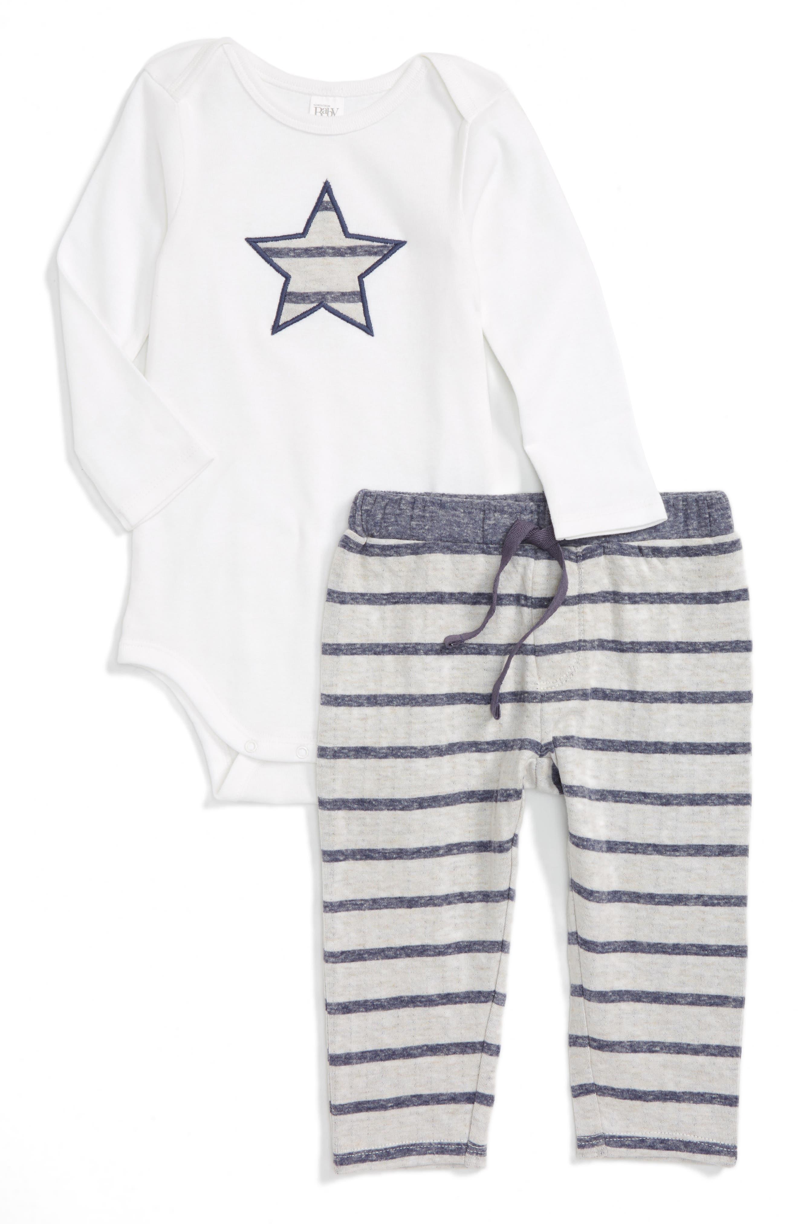 NORDSTROM BABY Bodysuit & Leggings Set
