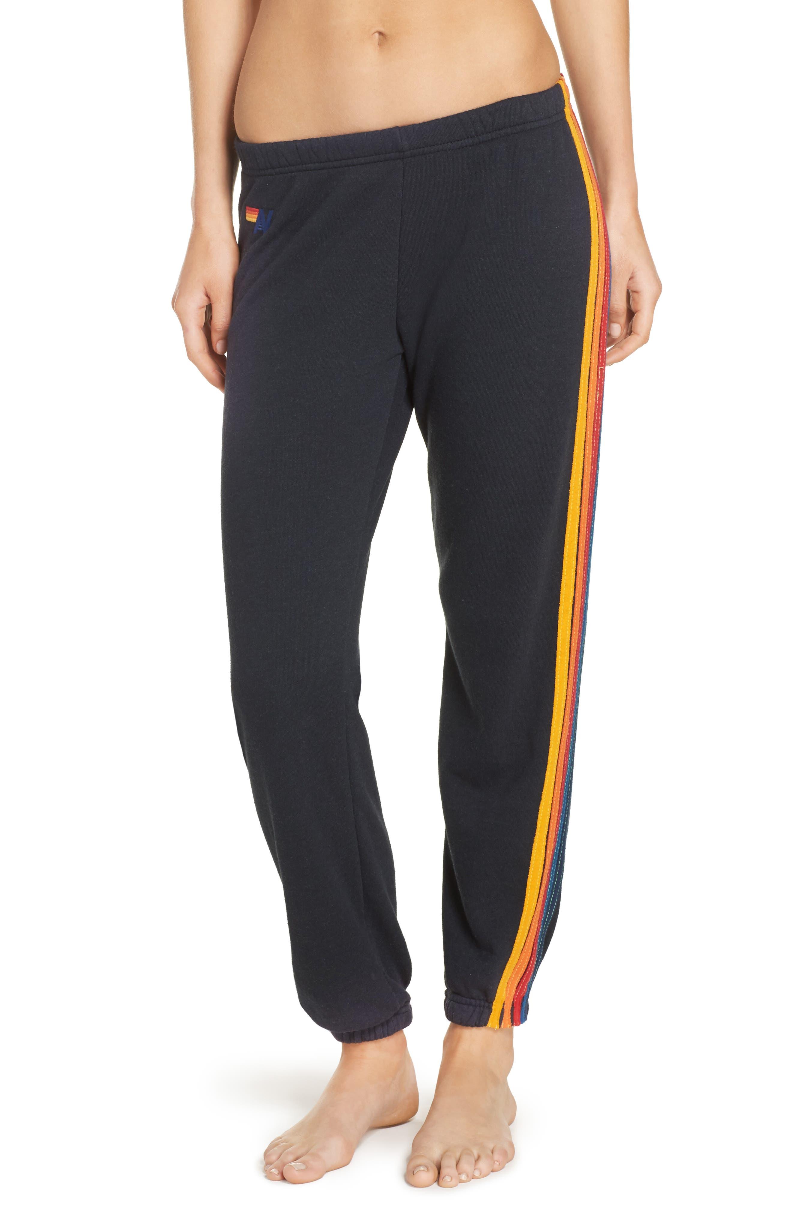 Main Image - Aviator Nation Stripe Sweatpants