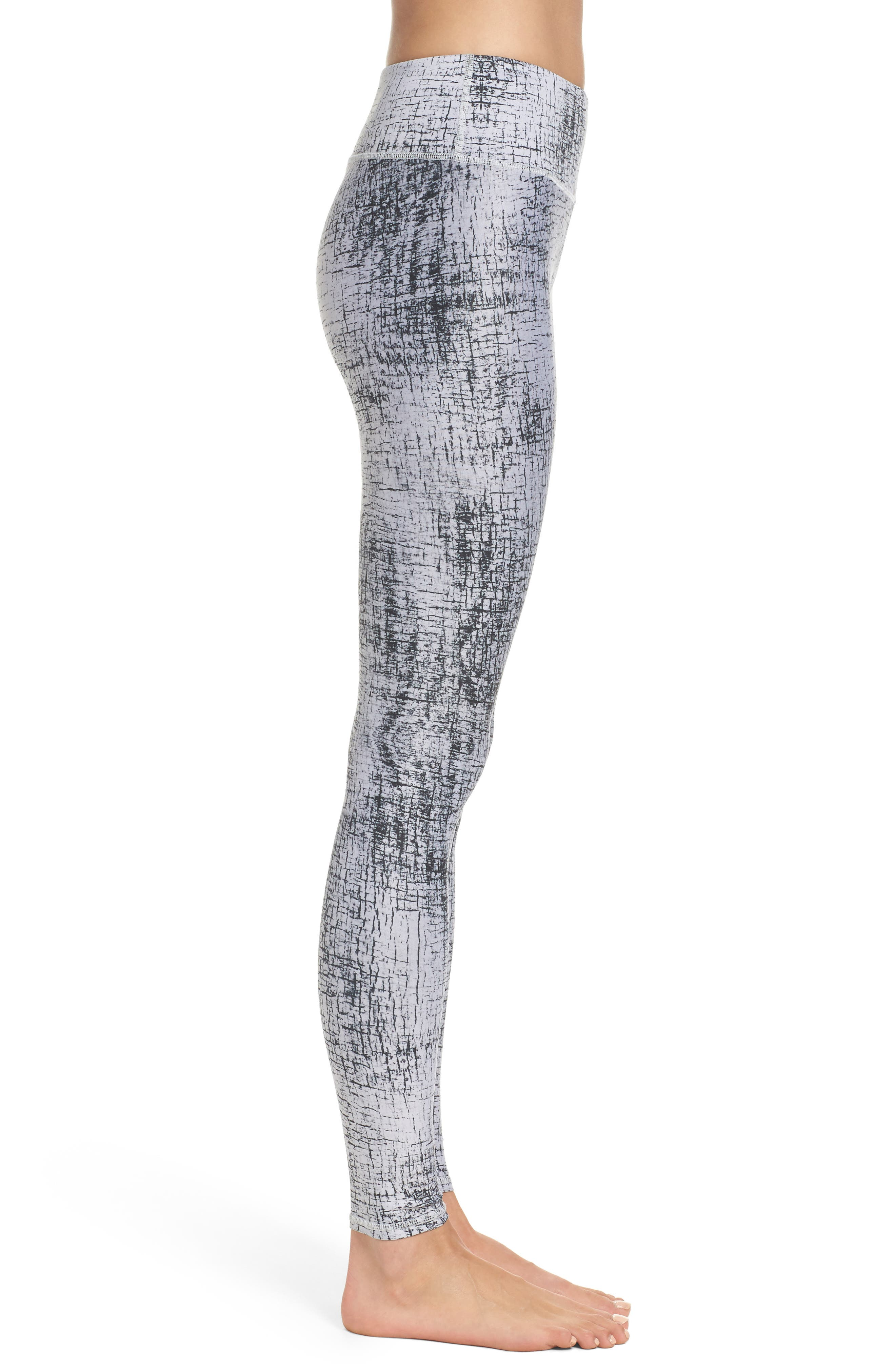 Tech Lift Airbrush Leggings,                             Alternate thumbnail 3, color,                             Crackle