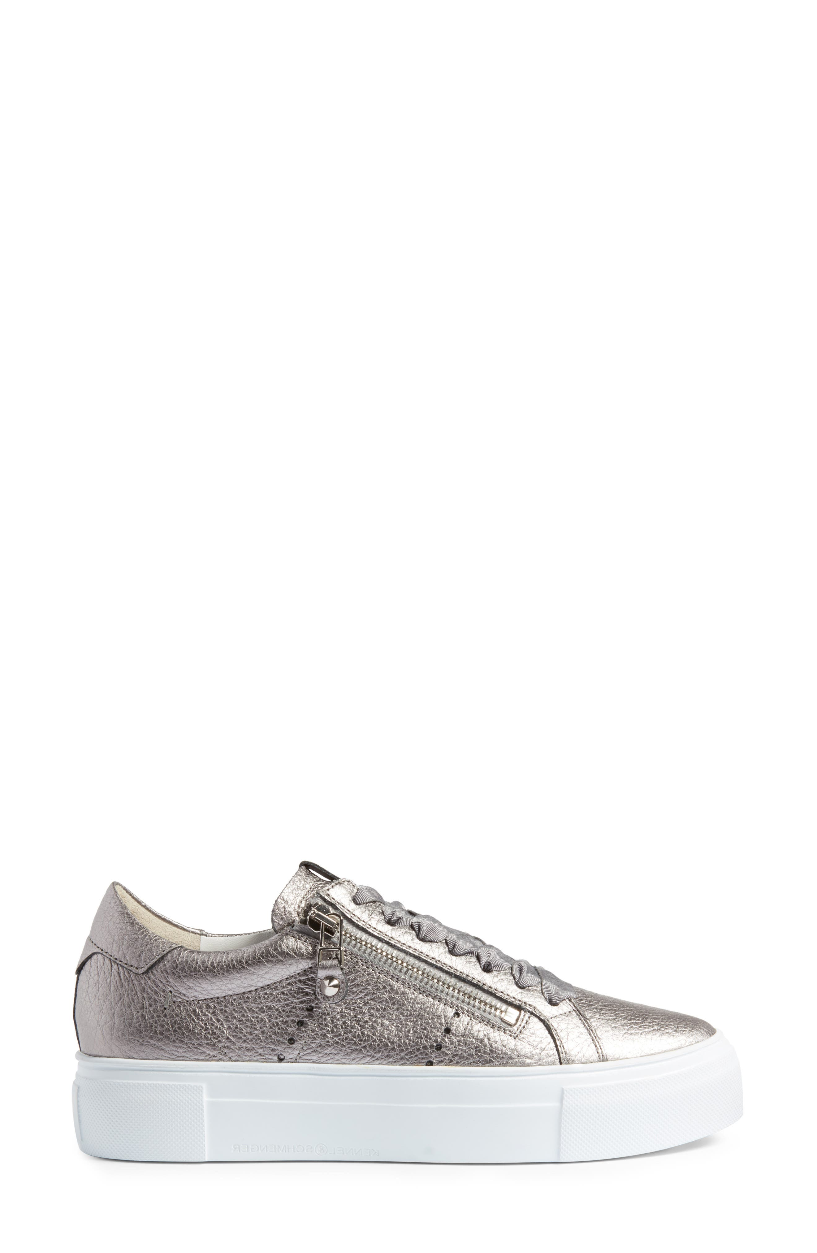 Alternate Image 3  - Kennel & Schmenger Big Low Top Platform Sneaker (Women)