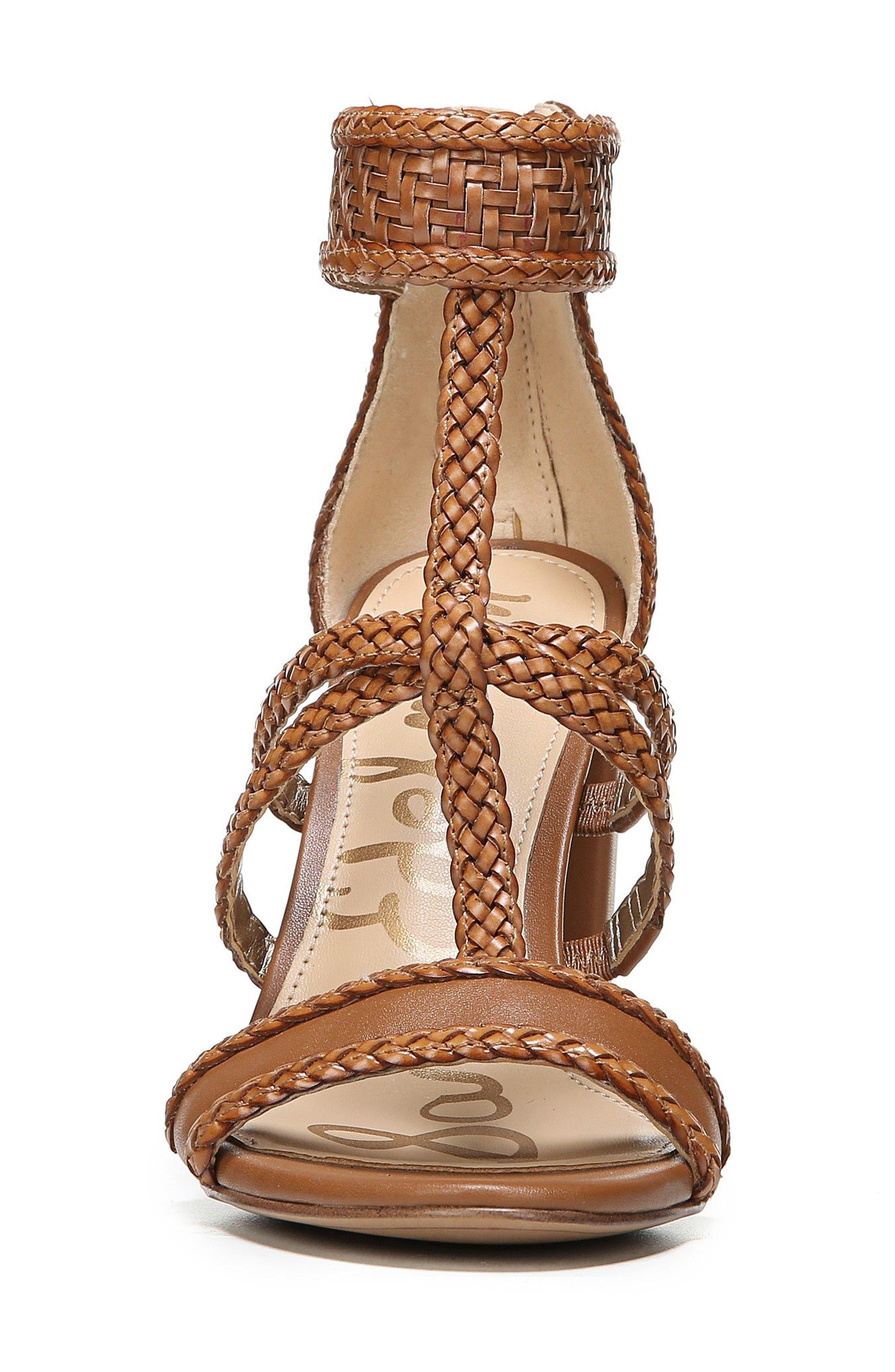 Alternate Image 4  - Sam Edelman Yordana Woven T-Strap Sandal (Women)