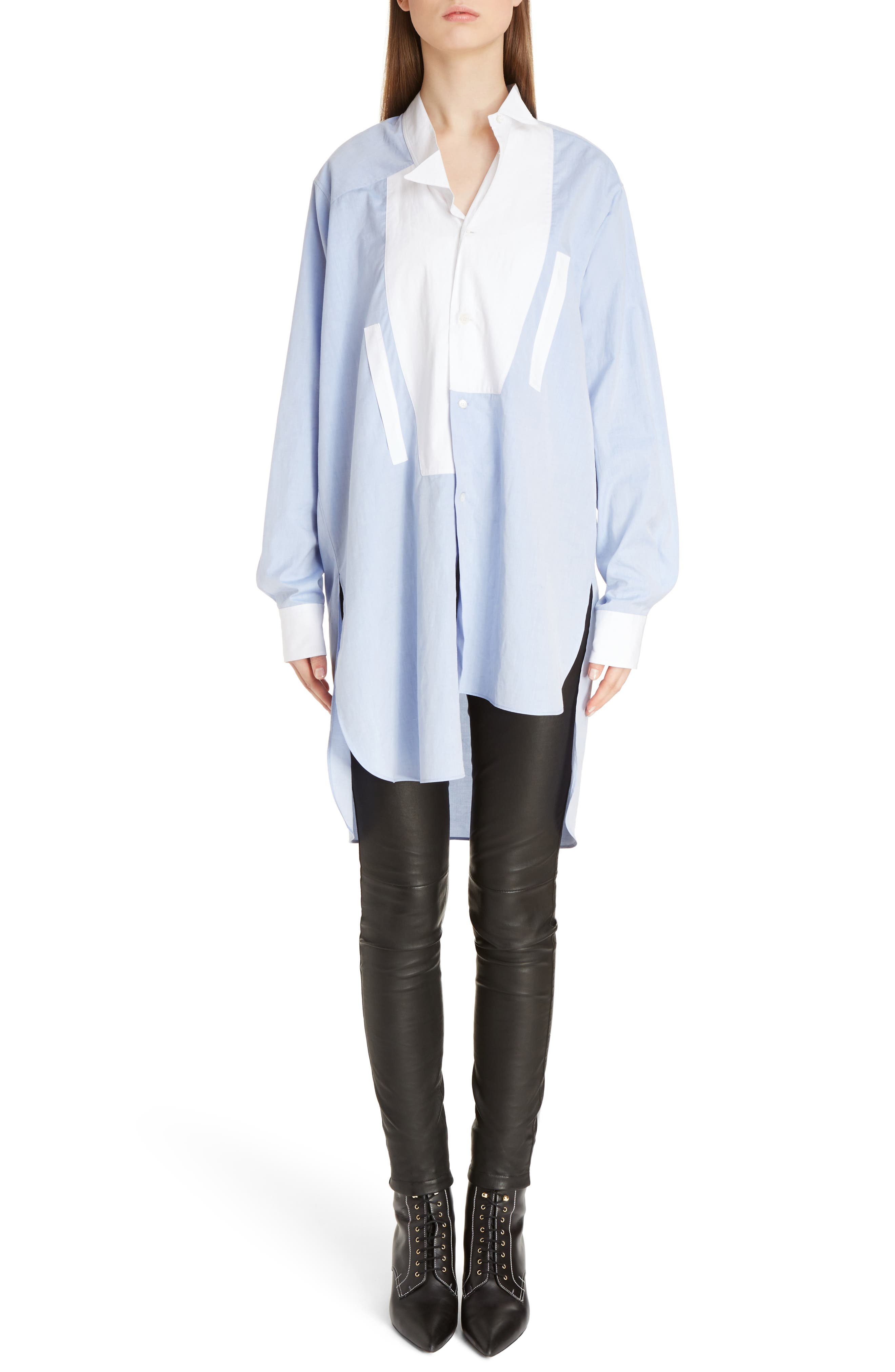 Alternate Image 6  - Loewe Asymmetrical Patchwork Cotton Top