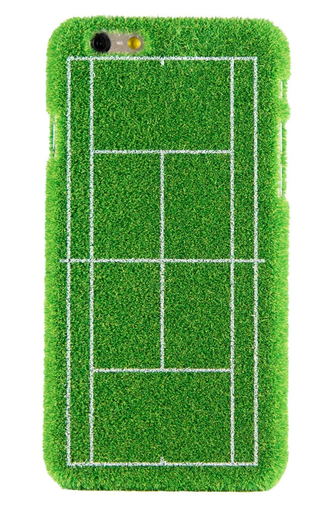 Grand Slam Portable Park iPhone 6/6s & 6/6s Plus Case,                         Main,                         color, Green