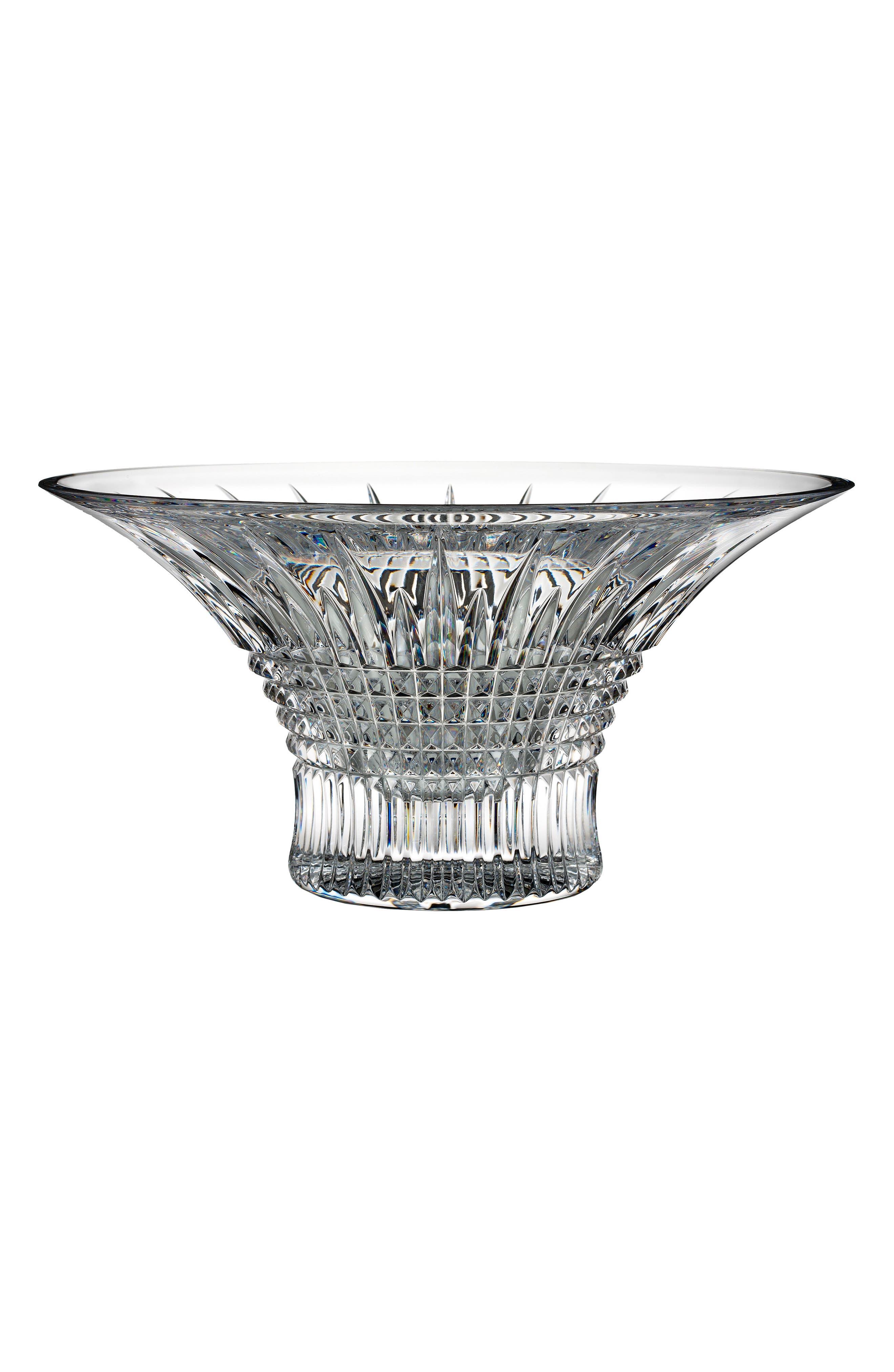 Lismore Diamond Lead Crystal Bowl,                         Main,                         color, Crystal
